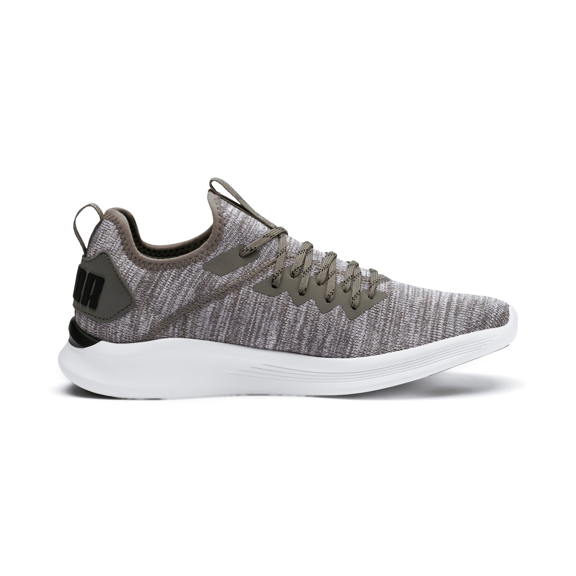 Thumbnail 7 of IGNITE Flash evoKNIT Men's Training Shoes, Steel Gray-Puma Black, medium-IND