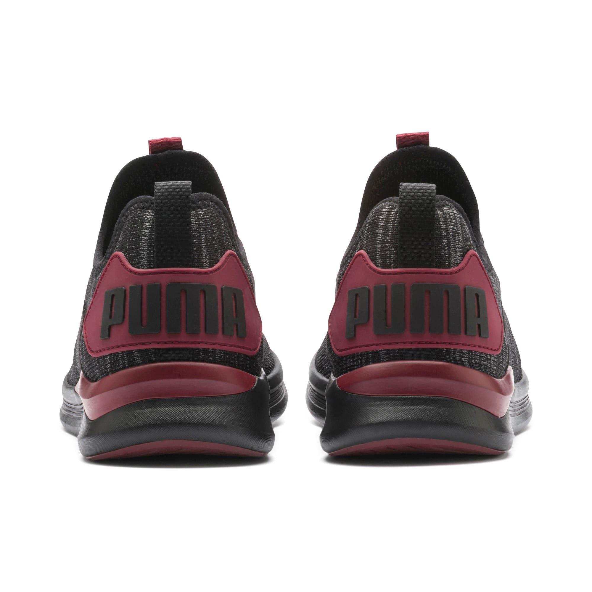 Thumbnail 5 of IGNITE Flash evoKNIT Men's Training Shoes, Puma Black-Rhubarb, medium-IND
