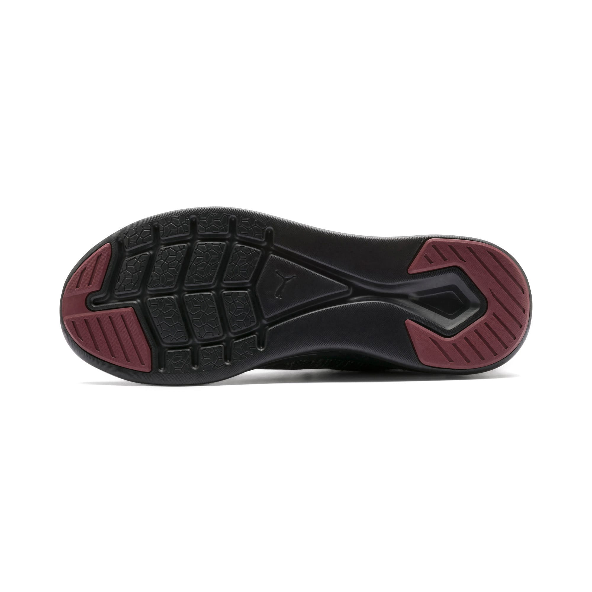 Thumbnail 6 of IGNITE Flash evoKNIT Men's Training Shoes, Puma Black-Rhubarb, medium-IND