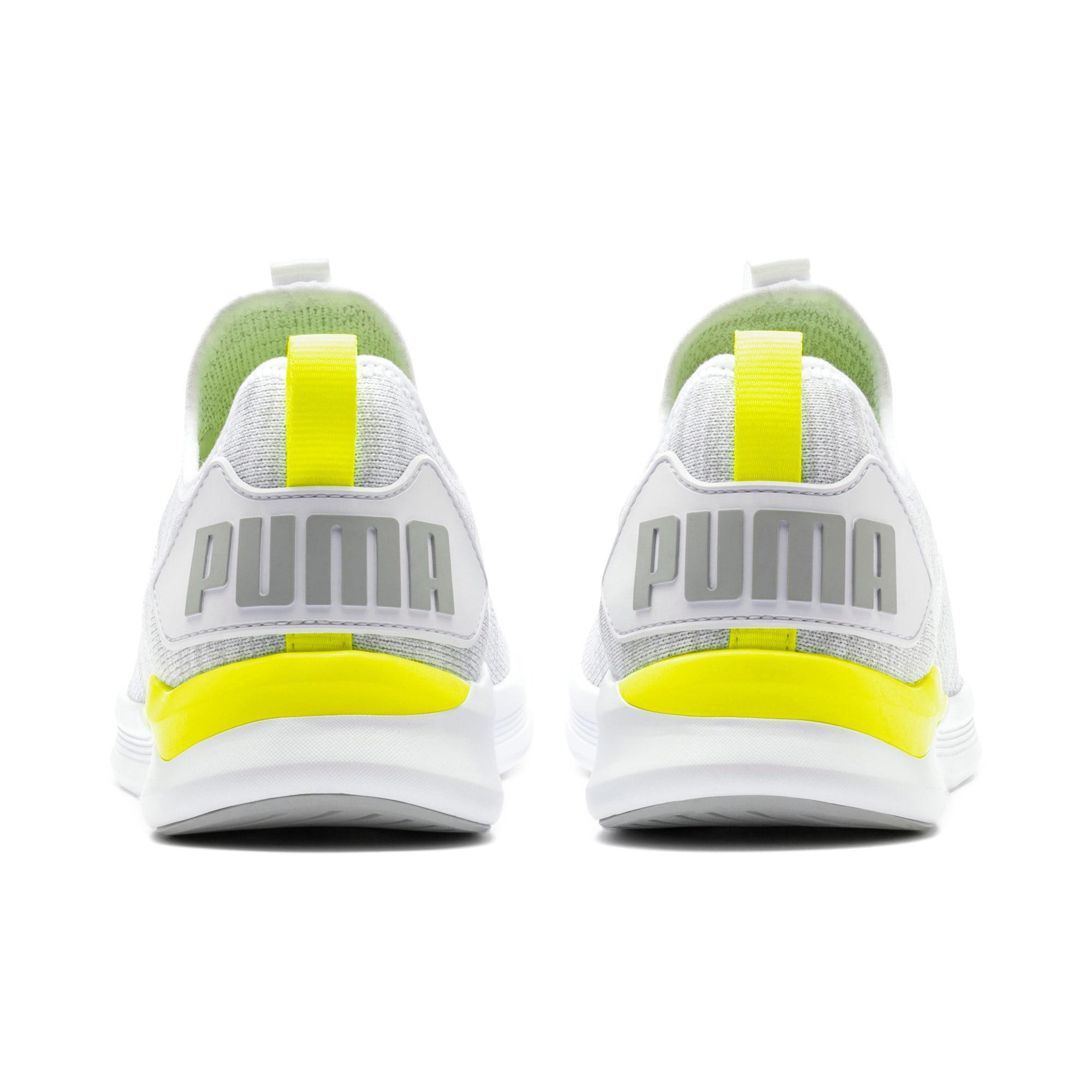 Thumbnail 5 of IGNITE Flash evoKNIT Men's Training Shoes, White-High Rise-Yellow Alert, medium-IND