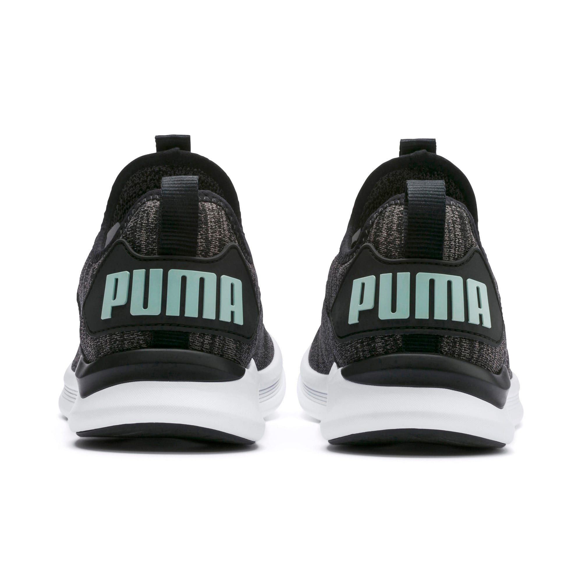 Thumbnail 4 of IGNITE Flash evoKNIT Women's Running Shoes, Black-Charcoal-Fair Aqua, medium
