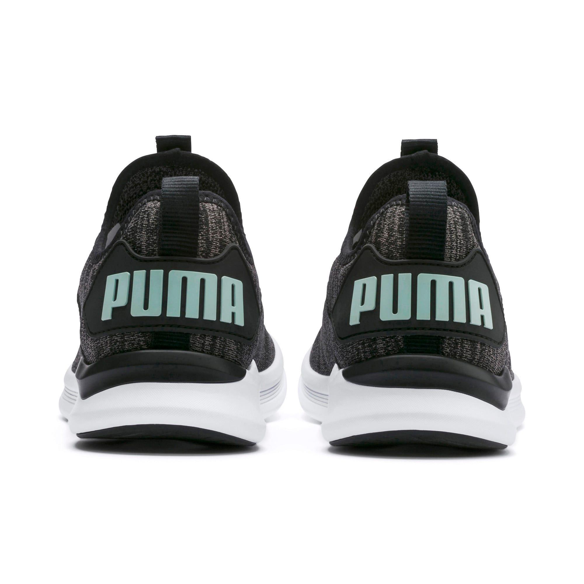 Thumbnail 4 of IGNITE Flash evoKNIT Women's Running Shoes, Black-Charcoal-Fair Aqua, medium-IND