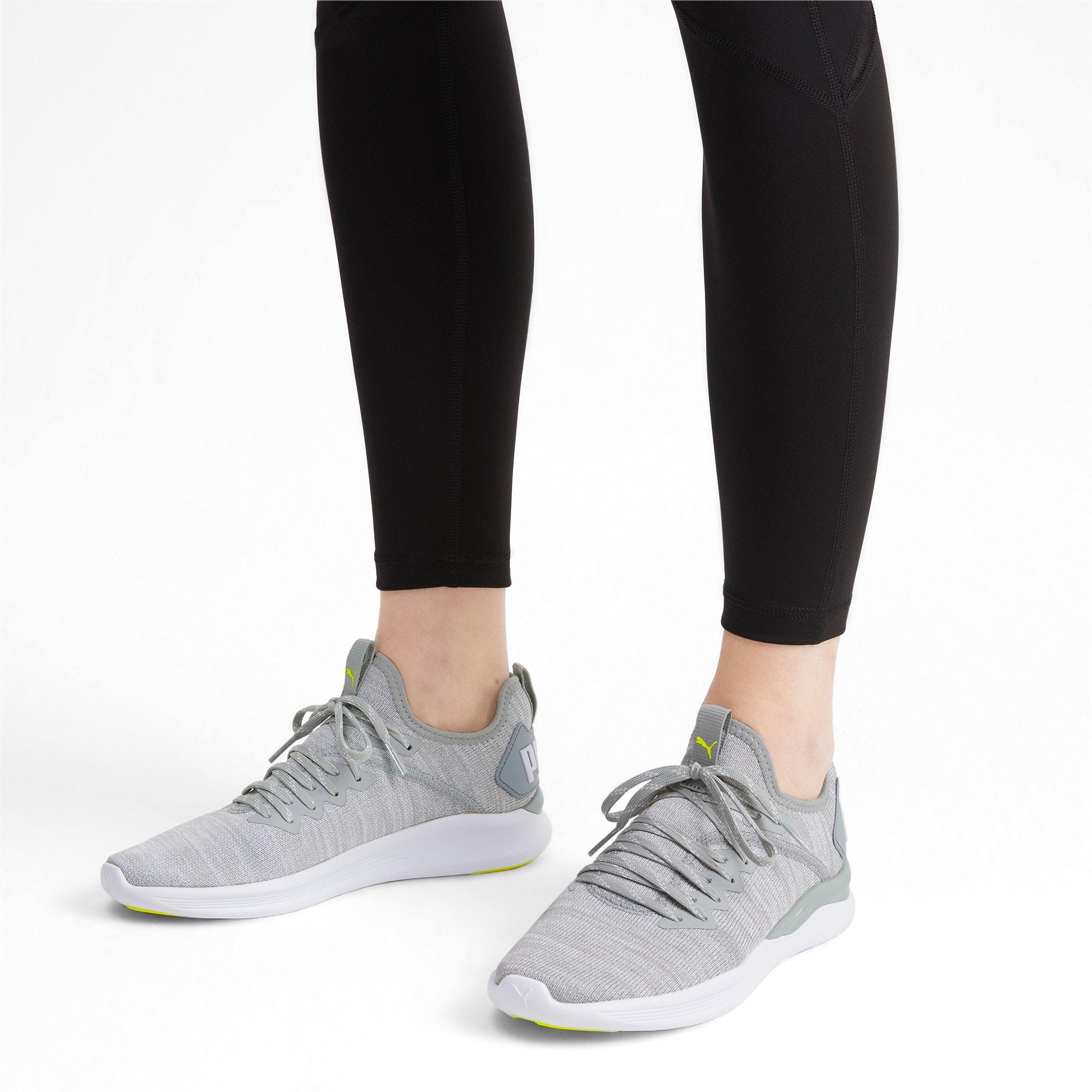 Thumbnail 2 of IGNITE Flash evoKNIT Women's Running Shoes, Quarry-White-Milky Blue, medium