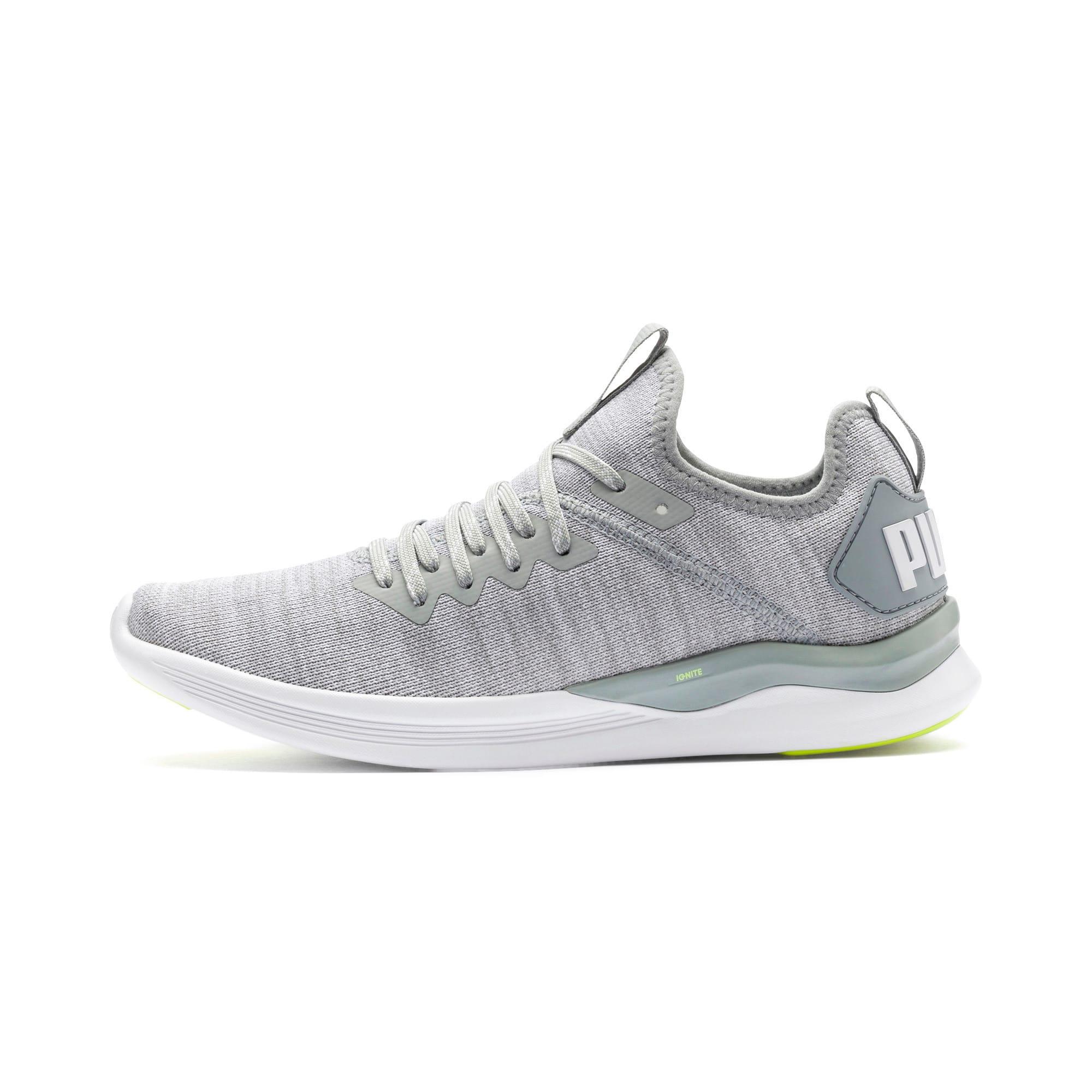 Thumbnail 1 of IGNITE Flash evoKNIT Women's Running Shoes, Quarry-White-Milky Blue, medium