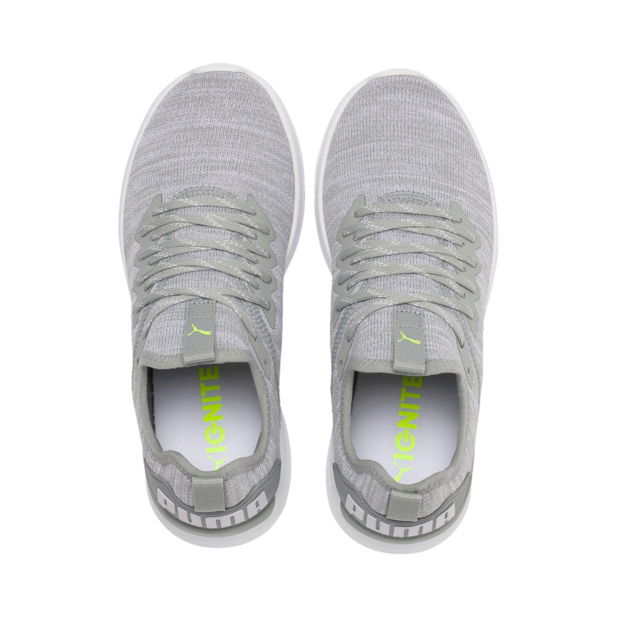 Thumbnail 7 of IGNITE Flash evoKNIT Women's Running Shoes, Quarry-White-Milky Blue, medium