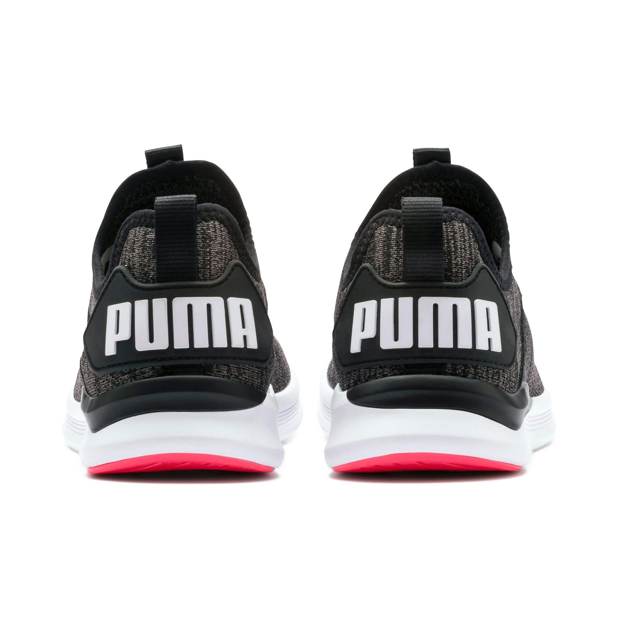 Thumbnail 4 of IGNITE Flash evoKNIT Women's Running Shoes, Black-White-Pink Alert, medium