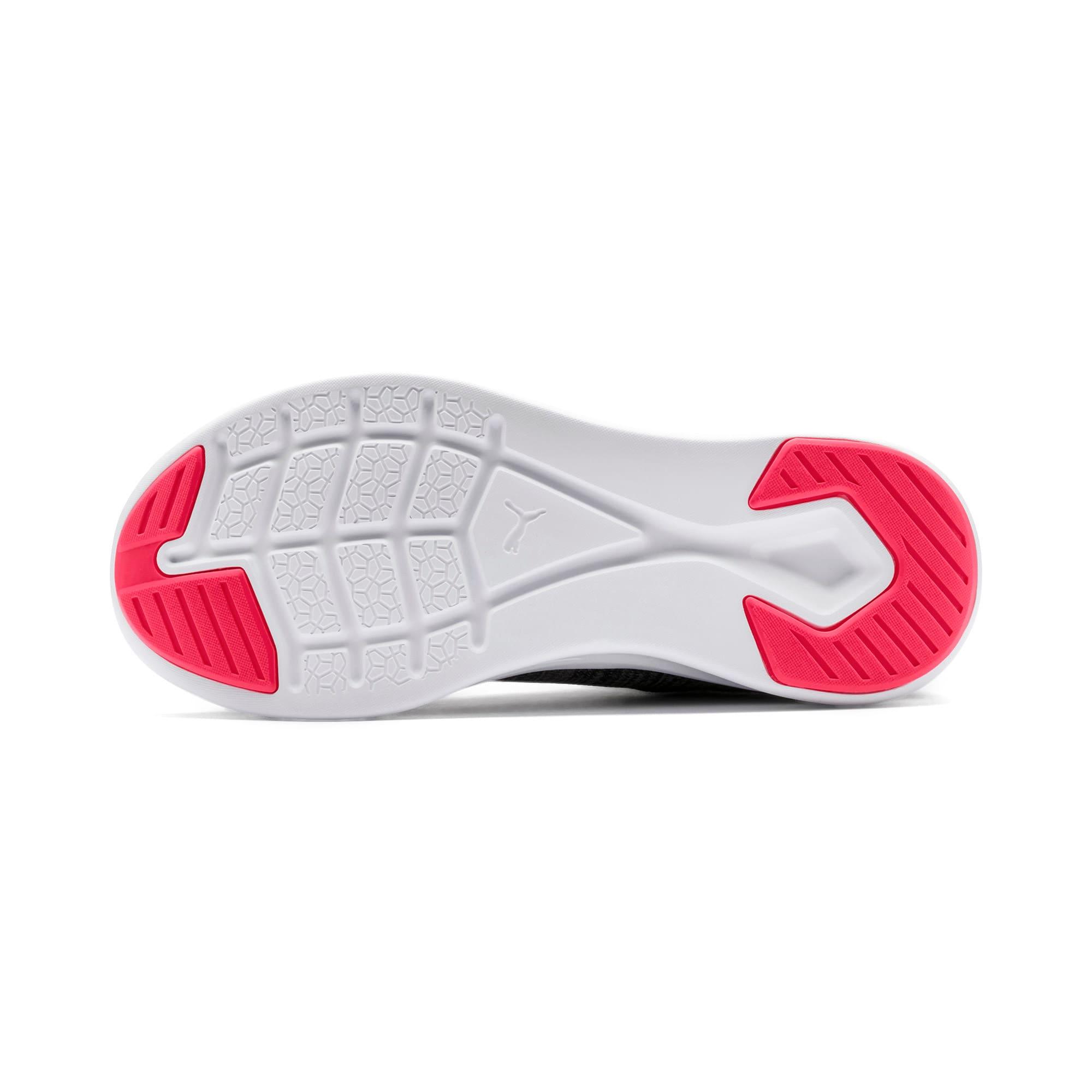Thumbnail 5 of IGNITE Flash evoKNIT Women's Running Shoes, Black-White-Pink Alert, medium