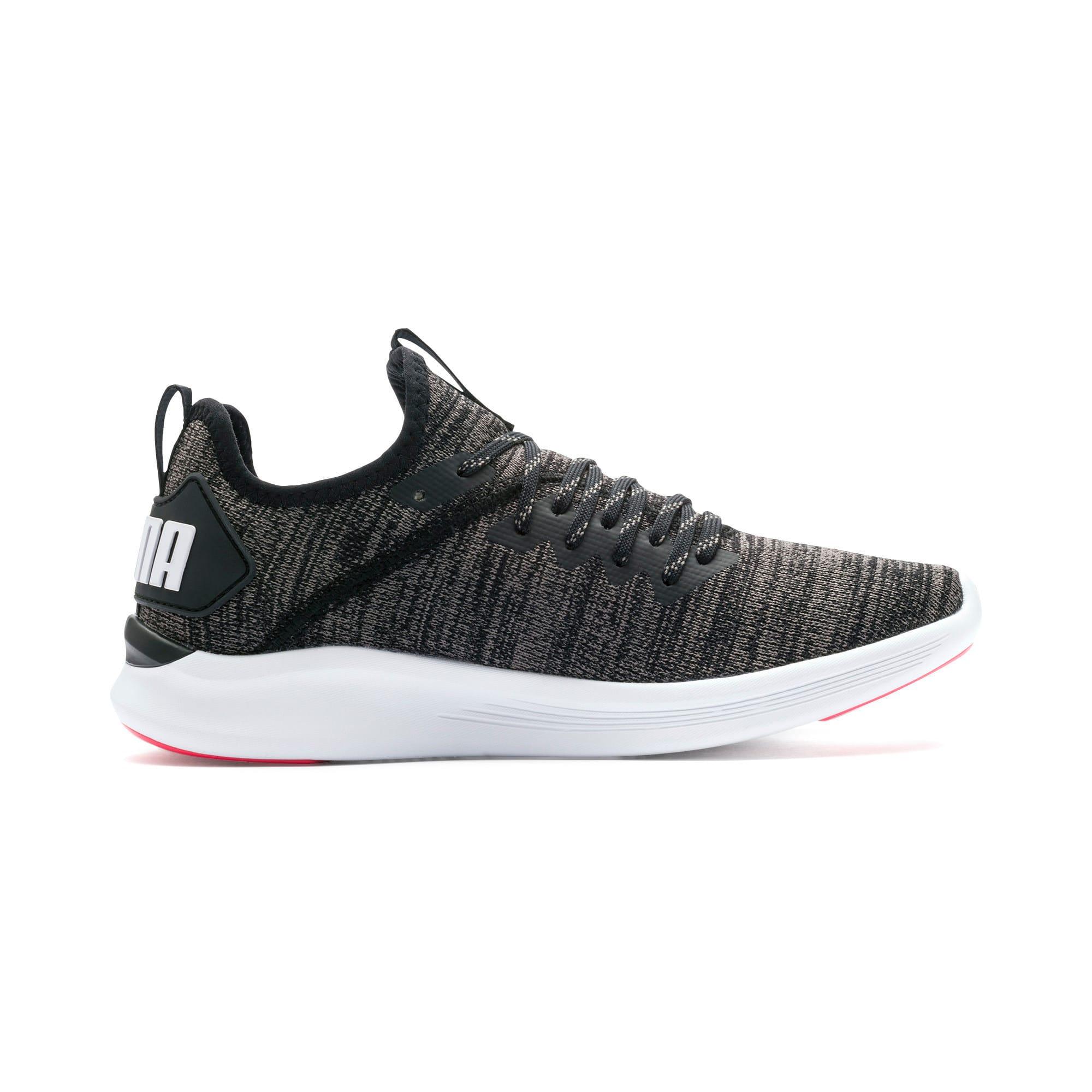 Thumbnail 6 of IGNITE Flash evoKNIT Women's Running Shoes, Black-White-Pink Alert, medium
