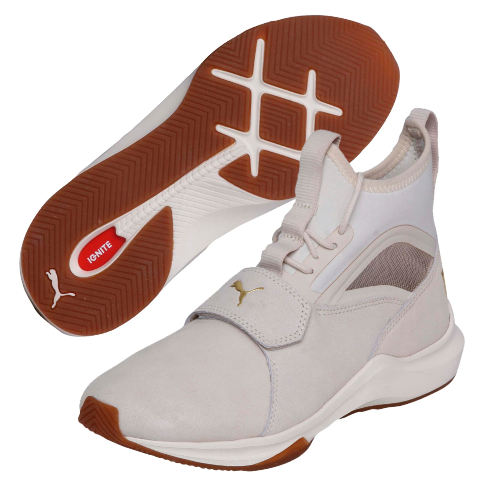 Thumbnail 2 of Phenom Shimmer Women's Training Shoes, Birch-Whisper White, medium-IND