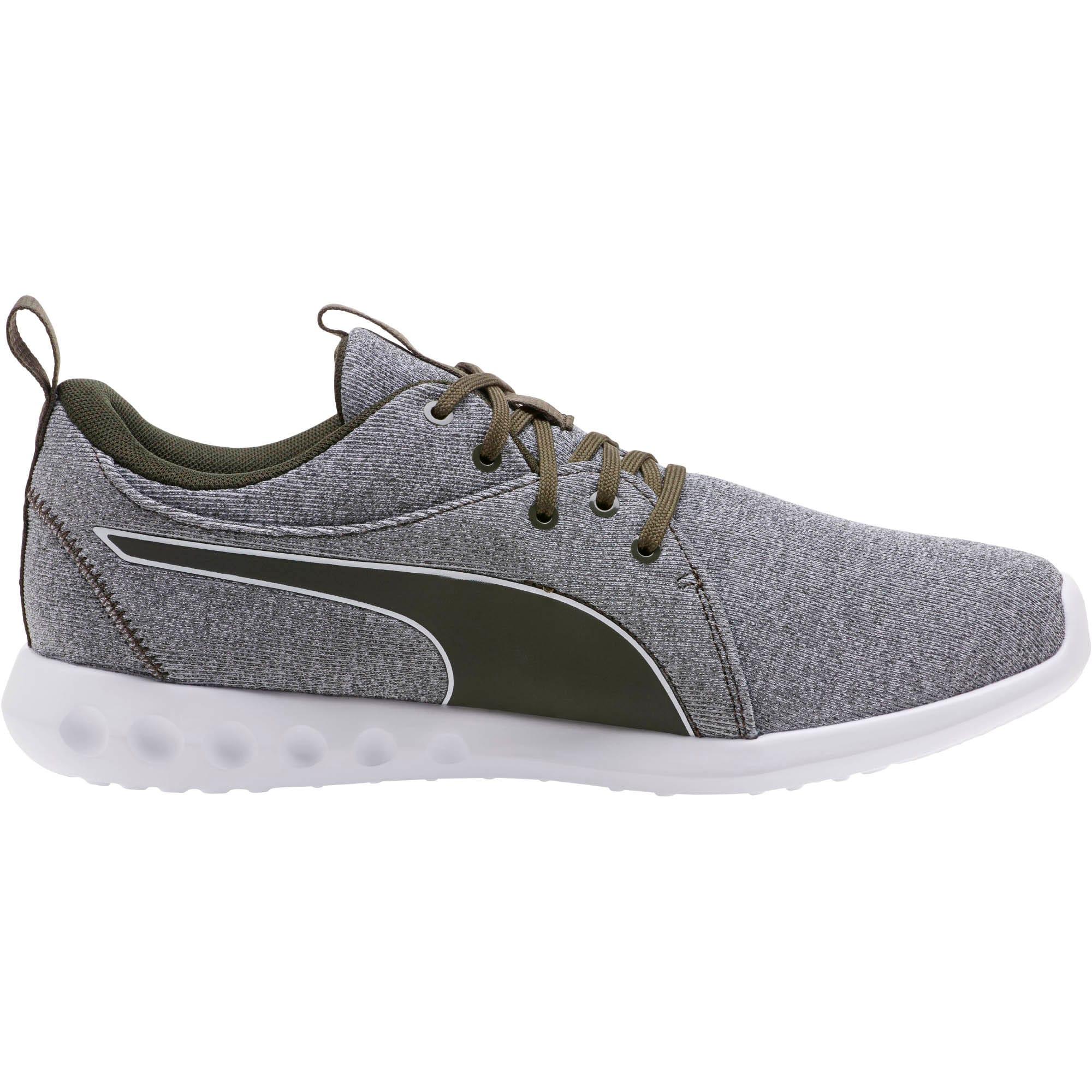 Thumbnail 3 of Carson 2 Men's Nautical Running Shoes, Forest Night-Puma White, medium