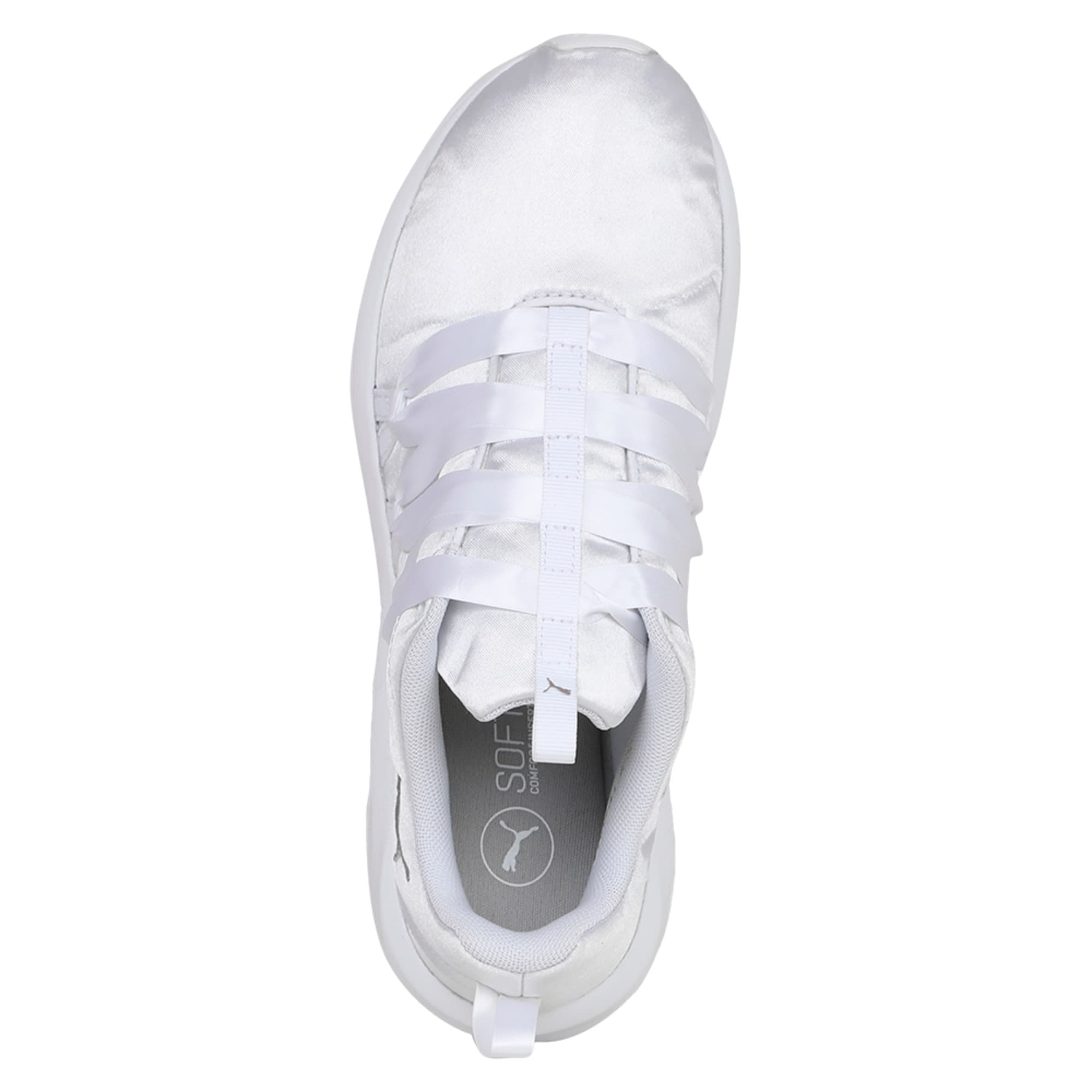 Thumbnail 3 of Prowl Alt Satin Women's Training Shoes, Puma White, medium-IND