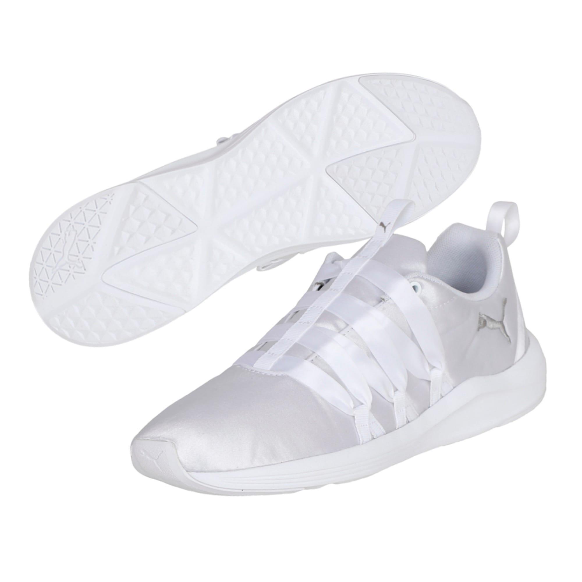 Thumbnail 2 of Prowl Alt Satin Women's Training Shoes, Puma White, medium-IND