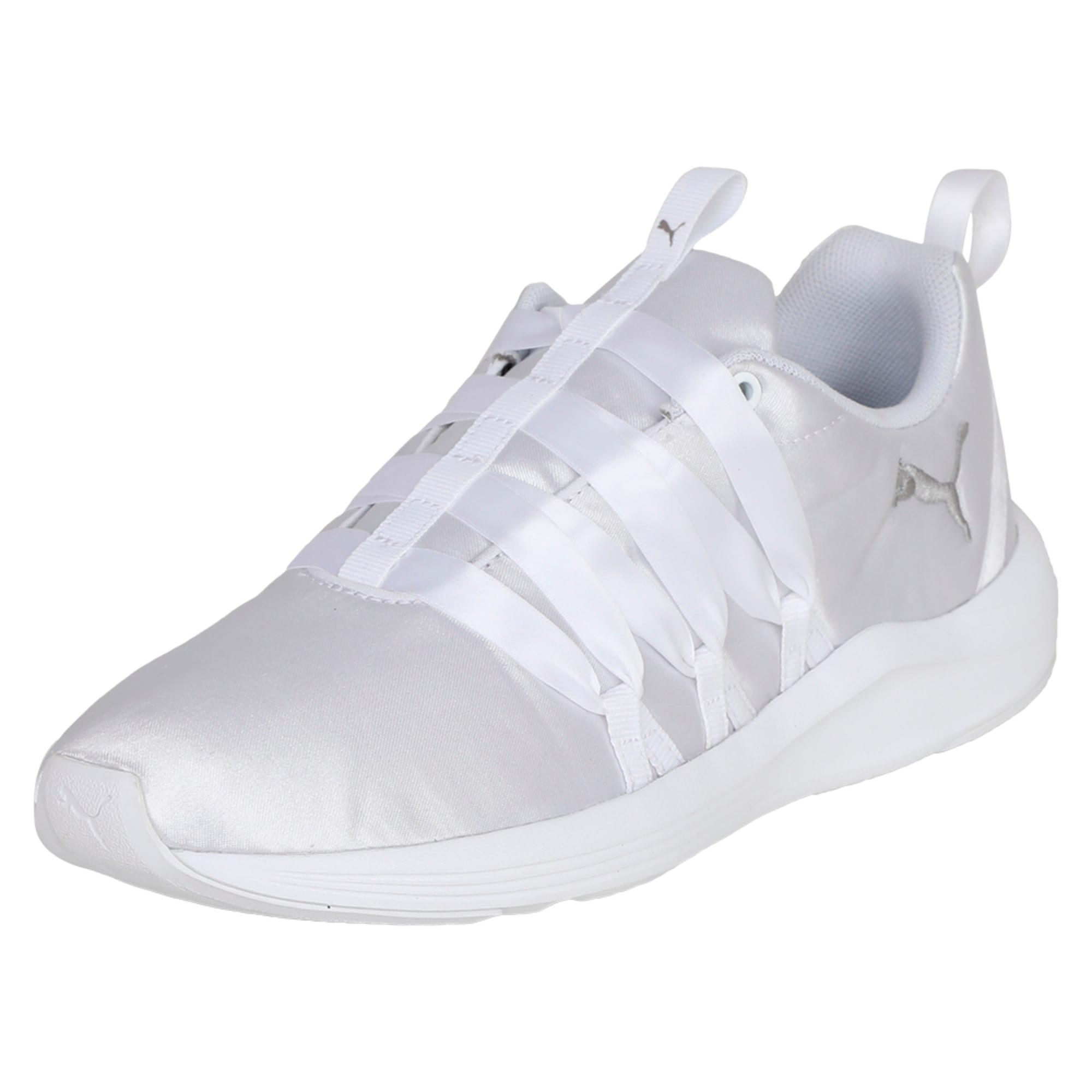 Thumbnail 1 of Prowl Alt Satin Women's Training Shoes, Puma White, medium-IND