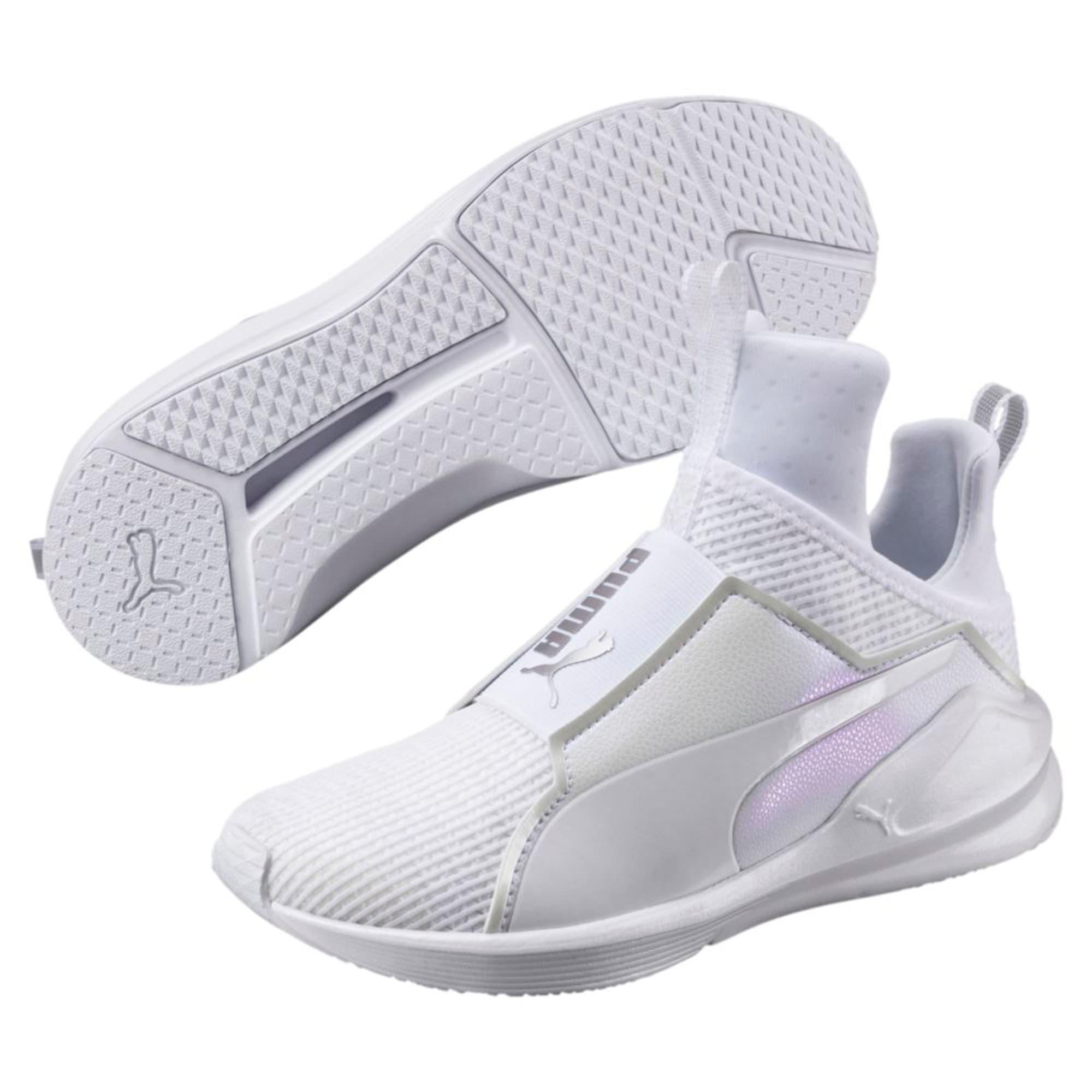 Thumbnail 6 of Fierce En Pointe Women's Training Shoes, Puma White-Puma White, medium-IND