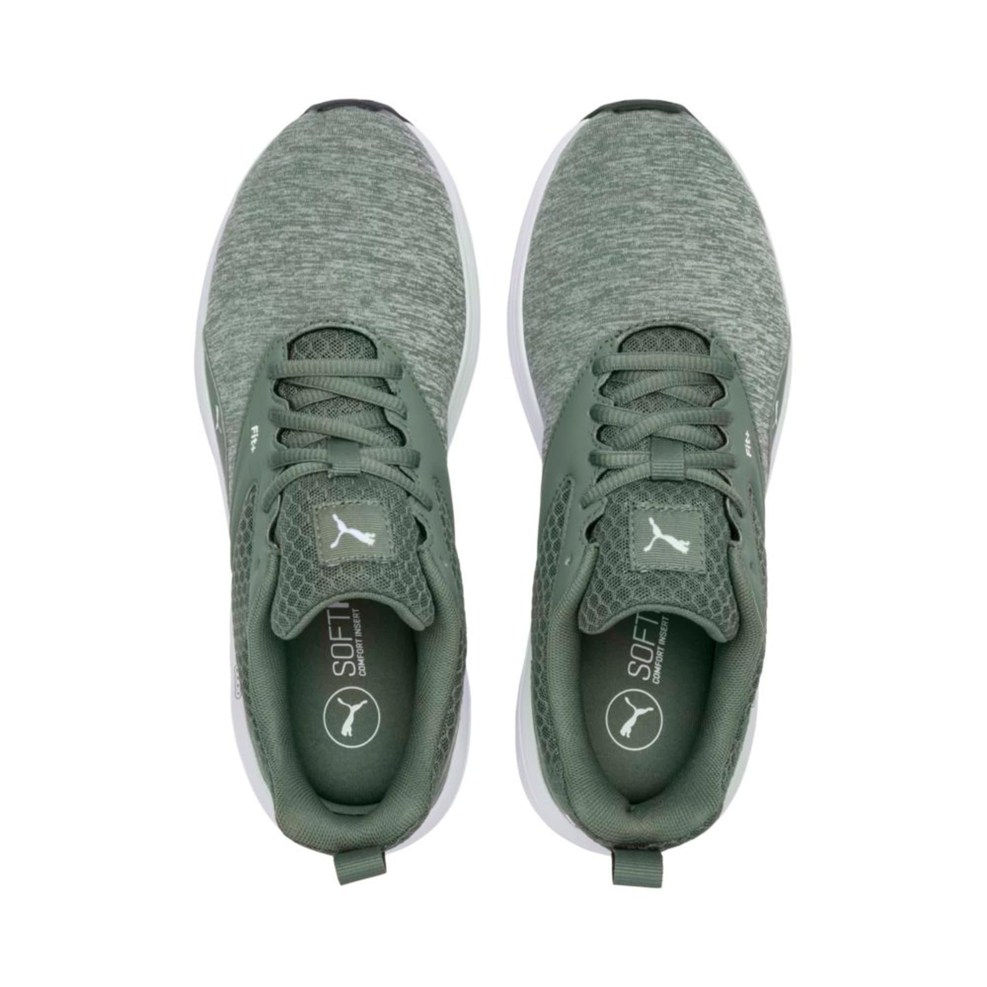 Thumbnail 3 of NRGY Comet Running Shoes, Laurel Wreath-Puma White, medium-IND