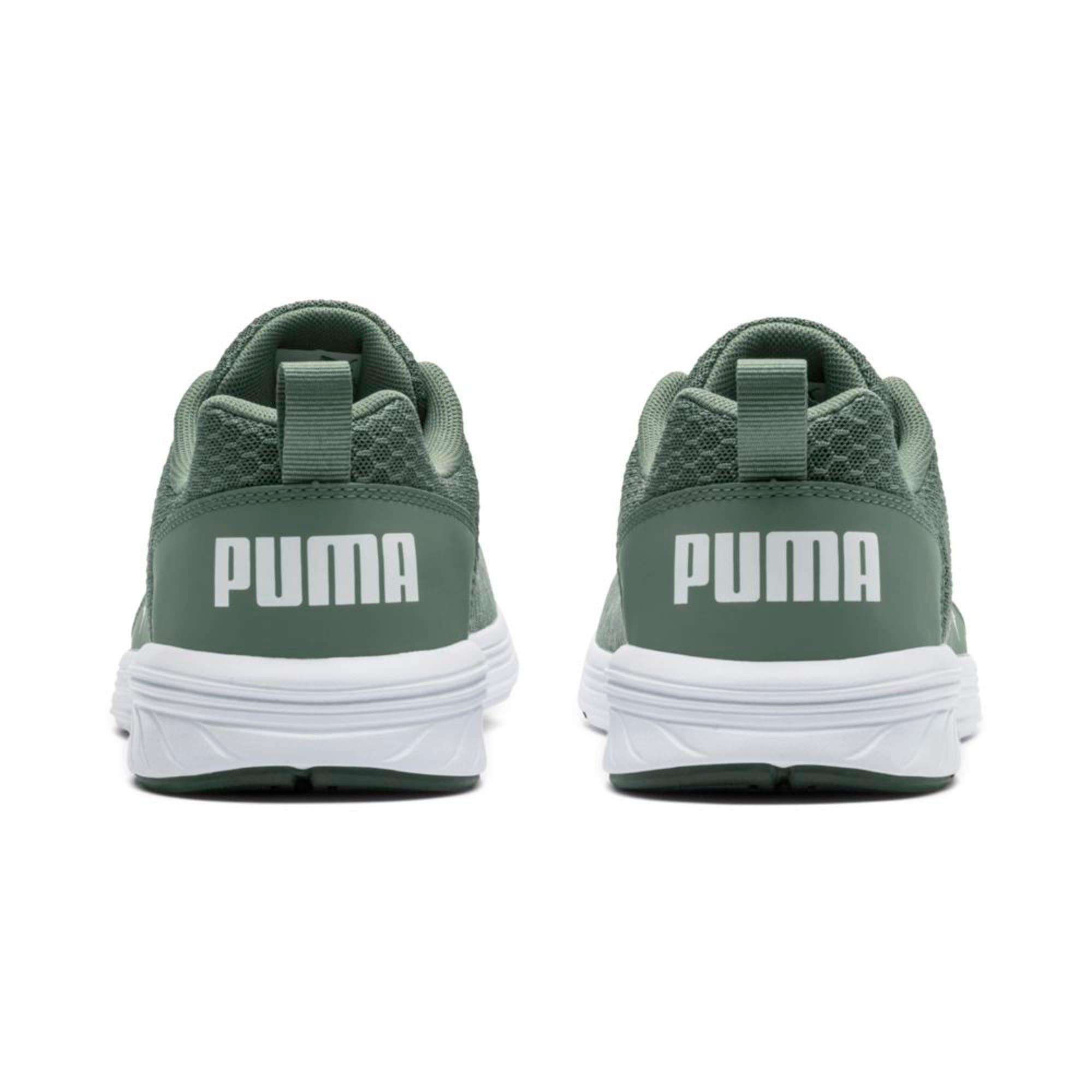 Thumbnail 4 of NRGY Comet Running Shoes, Laurel Wreath-Puma White, medium-IND