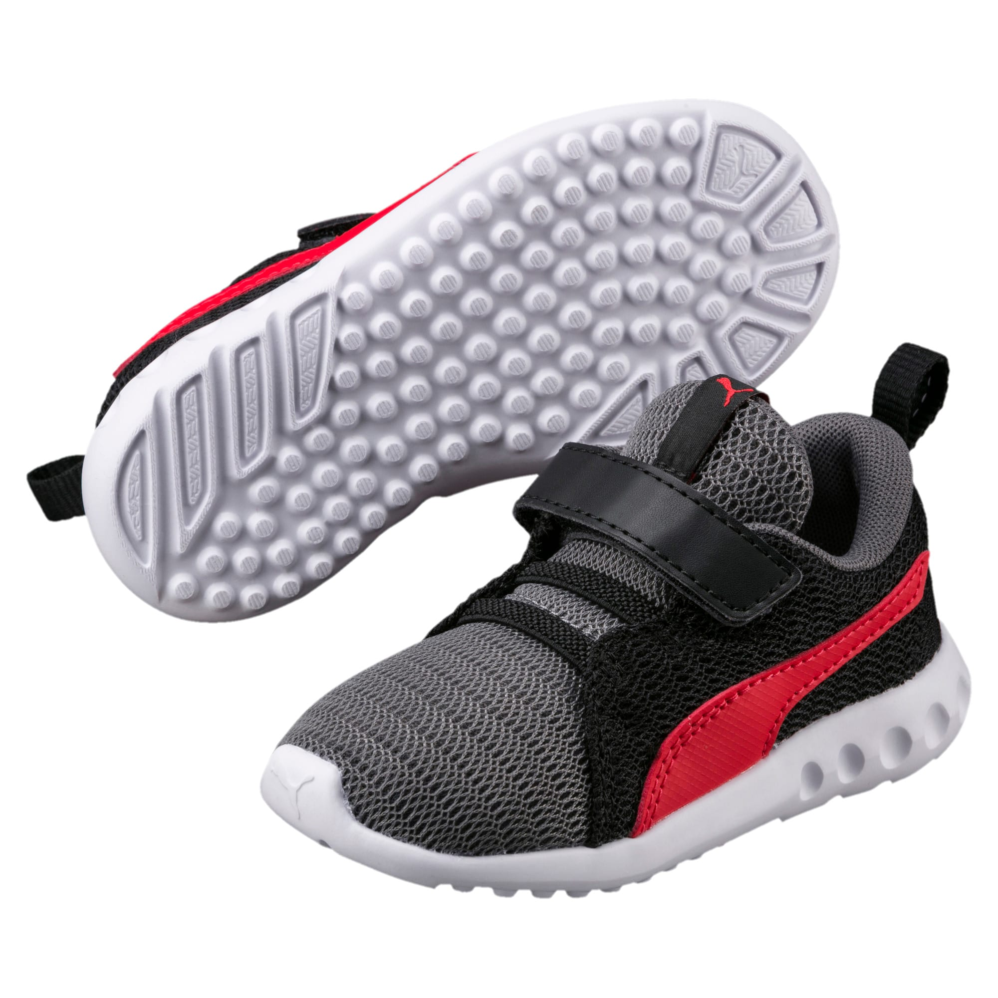 Thumbnail 2 of Carson 2 V Preschool Kids' Trainers, QUIET SHADE-Flame Scarlet, medium-IND