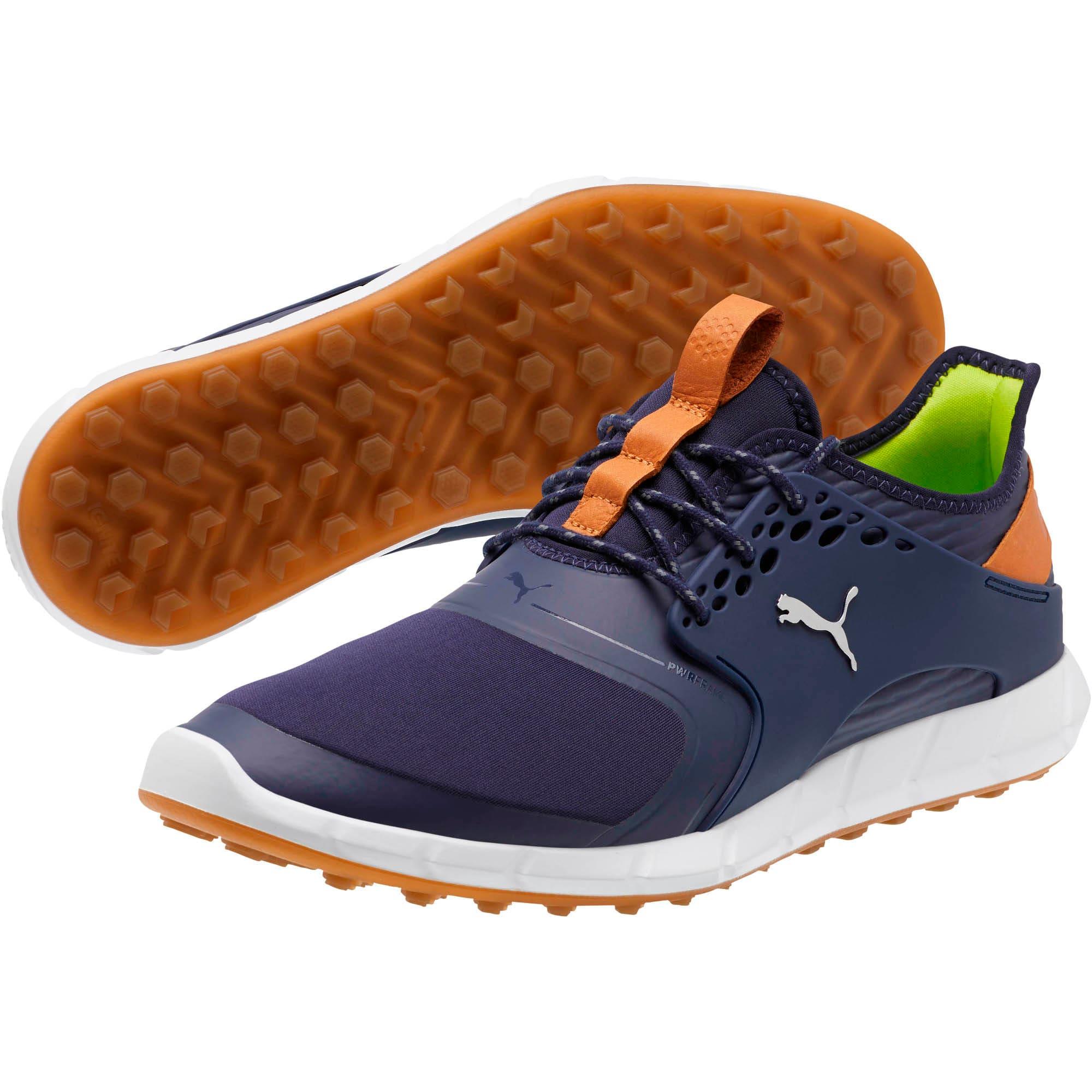 Thumbnail 2 of IGNITE PWRSPORT Men's Golf Shoes, Peacoat-Silver, medium