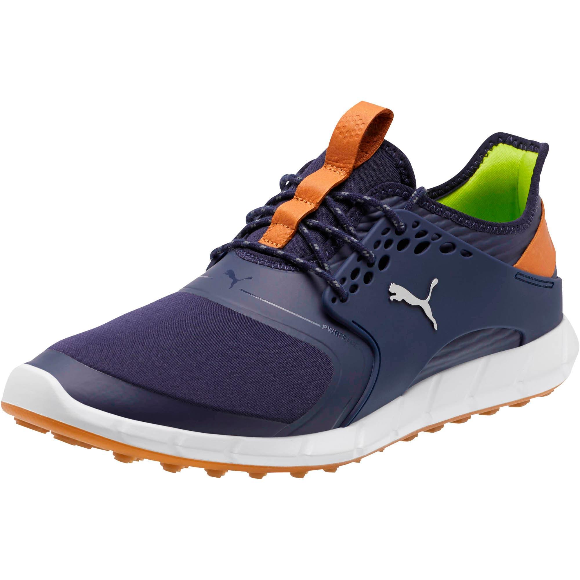 Thumbnail 1 of IGNITE PWRSPORT Men's Golf Shoes, Peacoat-Silver, medium