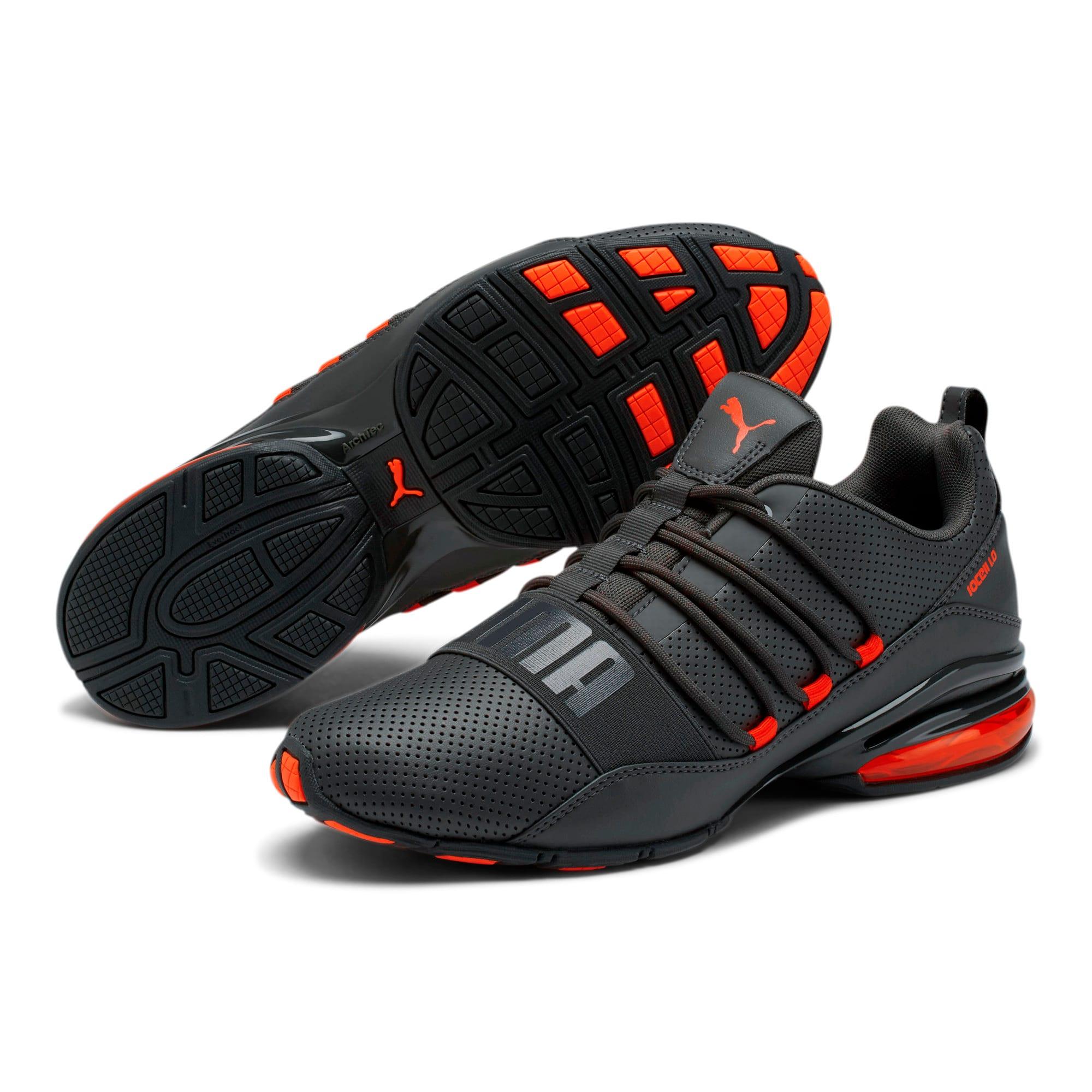 Thumbnail 2 of Cell Regulate Men's Running Shoes, Dark Shadow-Nrgy Red, medium