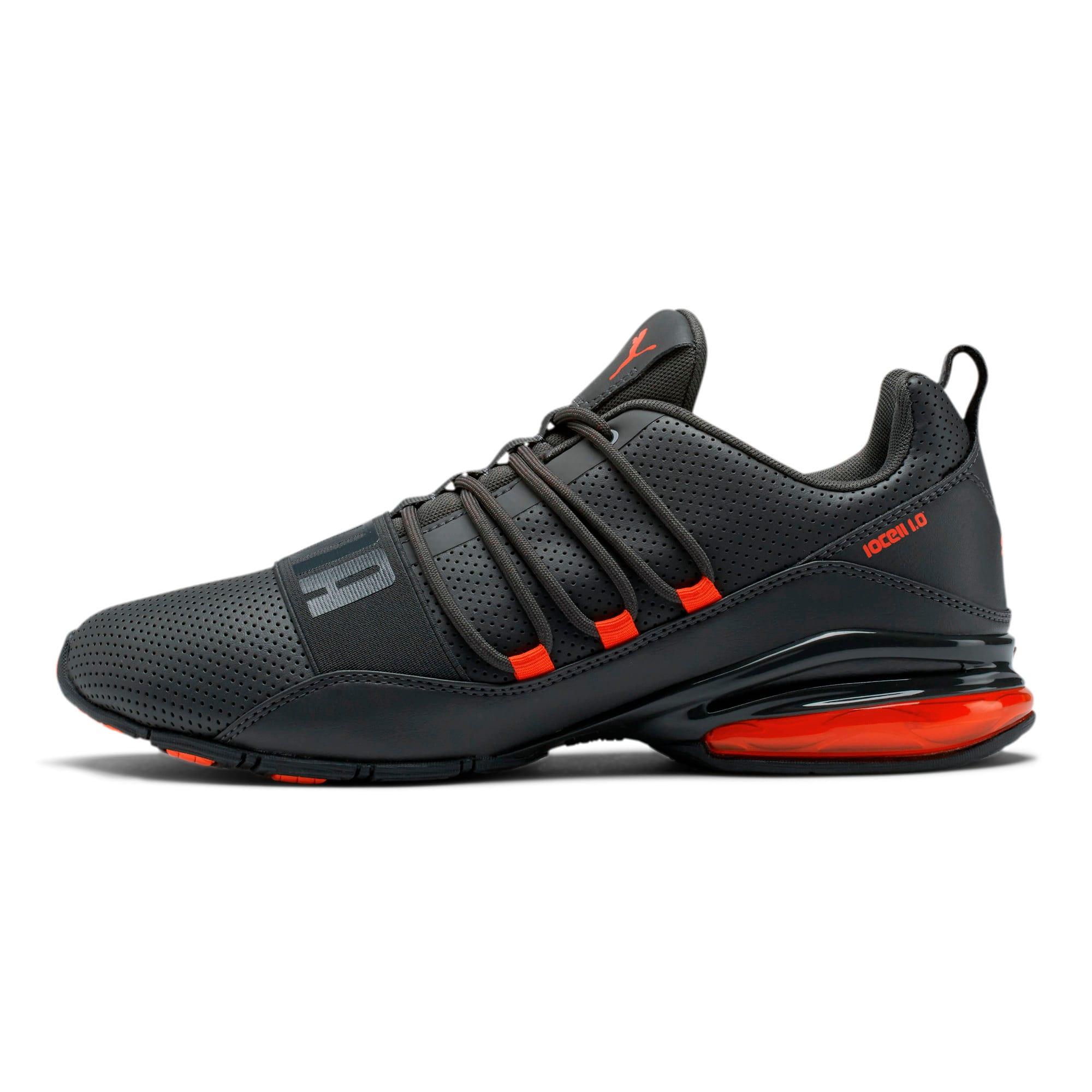Thumbnail 1 of Cell Regulate Men's Running Shoes, Dark Shadow-Nrgy Red, medium