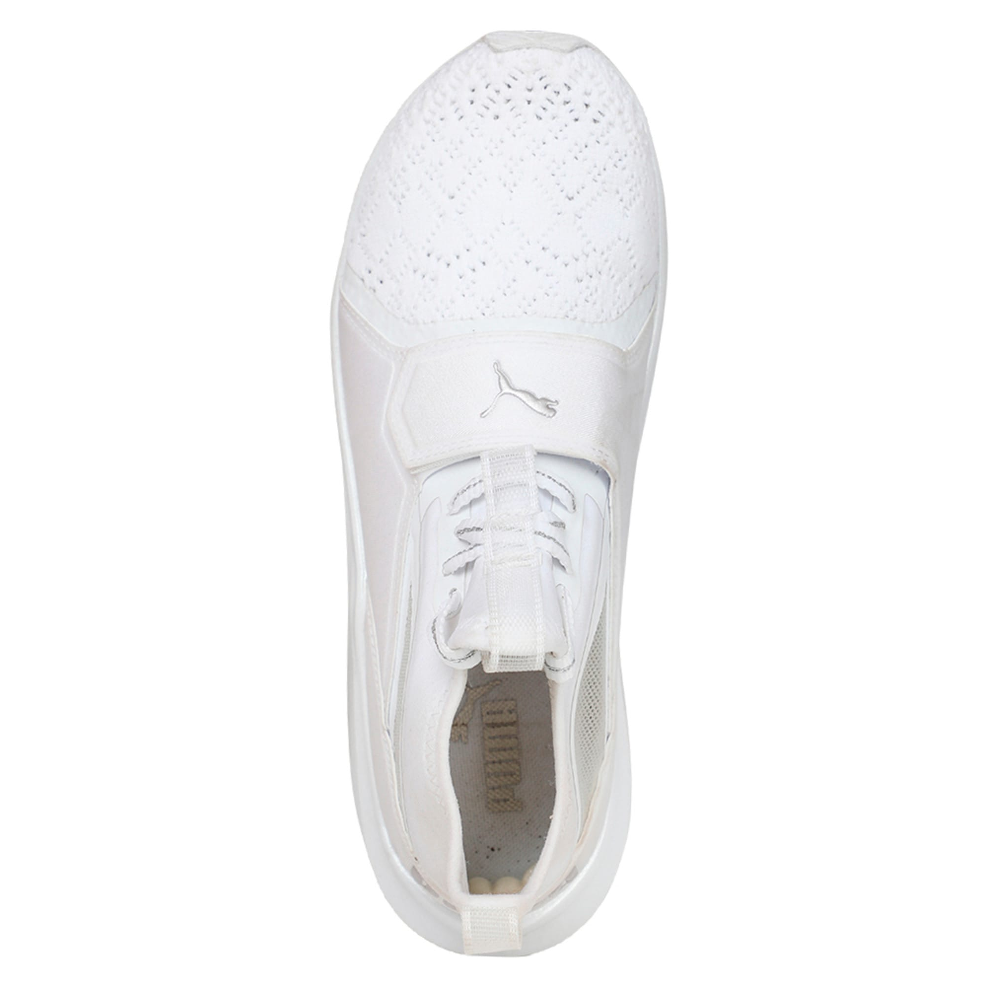 Thumbnail 3 of Phenom En Pointe Women's Training Shoes, Puma White-Metallic Beige, medium-IND