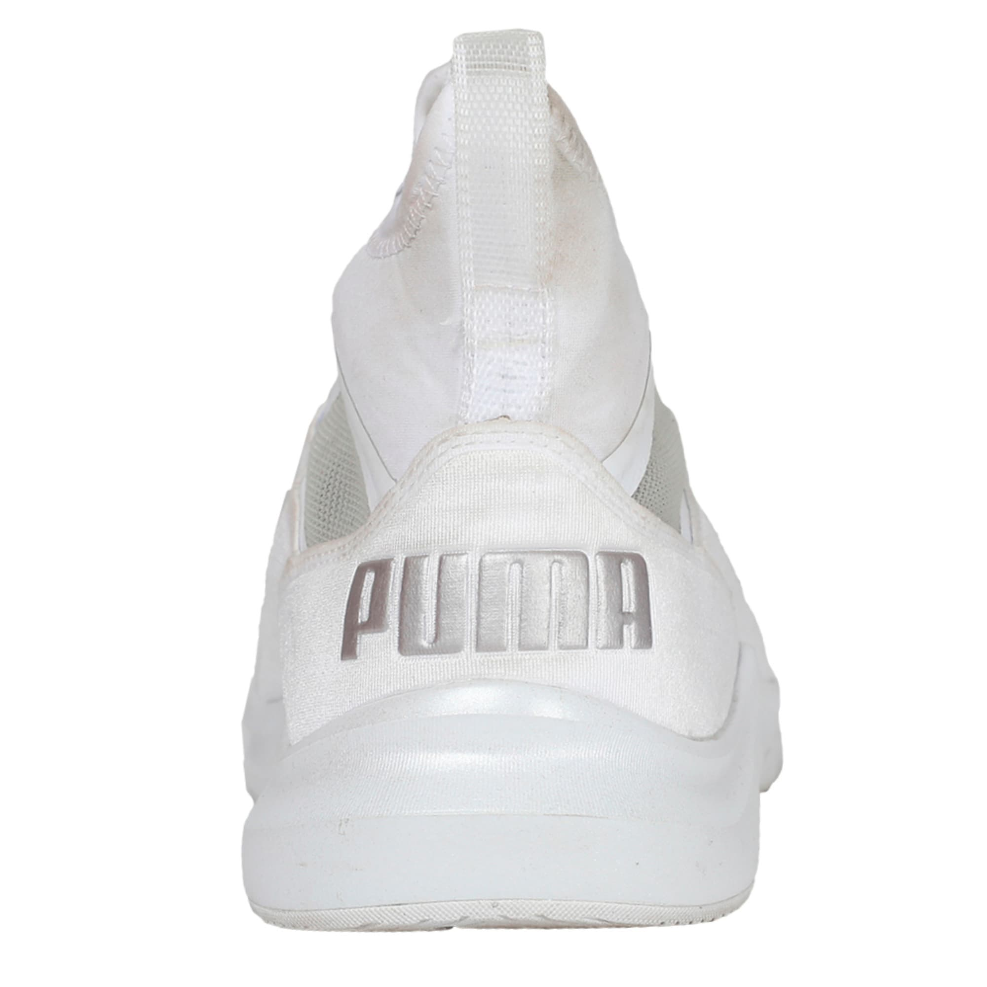 Thumbnail 4 of Phenom En Pointe Women's Training Shoes, Puma White-Metallic Beige, medium-IND