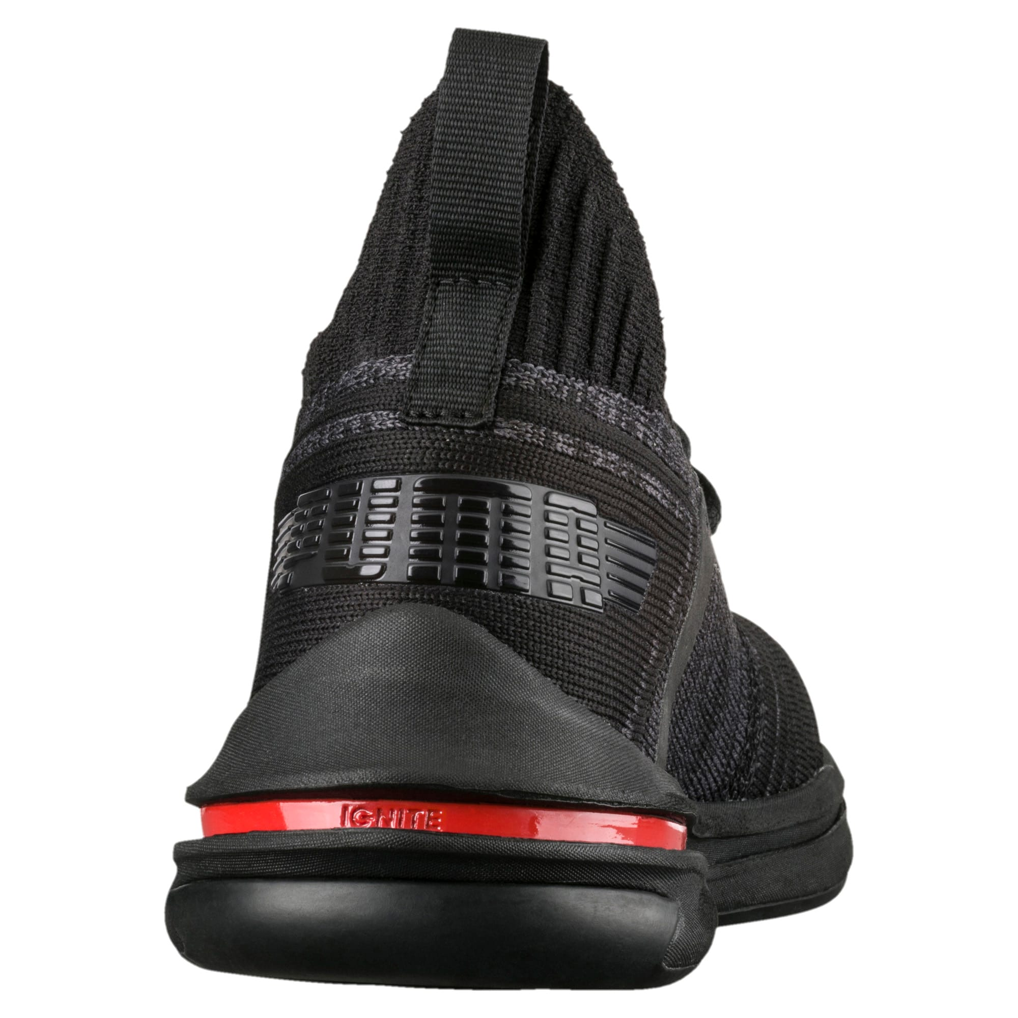 Thumbnail 5 of IGNITE Limitless evoKNIT Kid's Trainers, Black-Black-Asphalt, medium-IND
