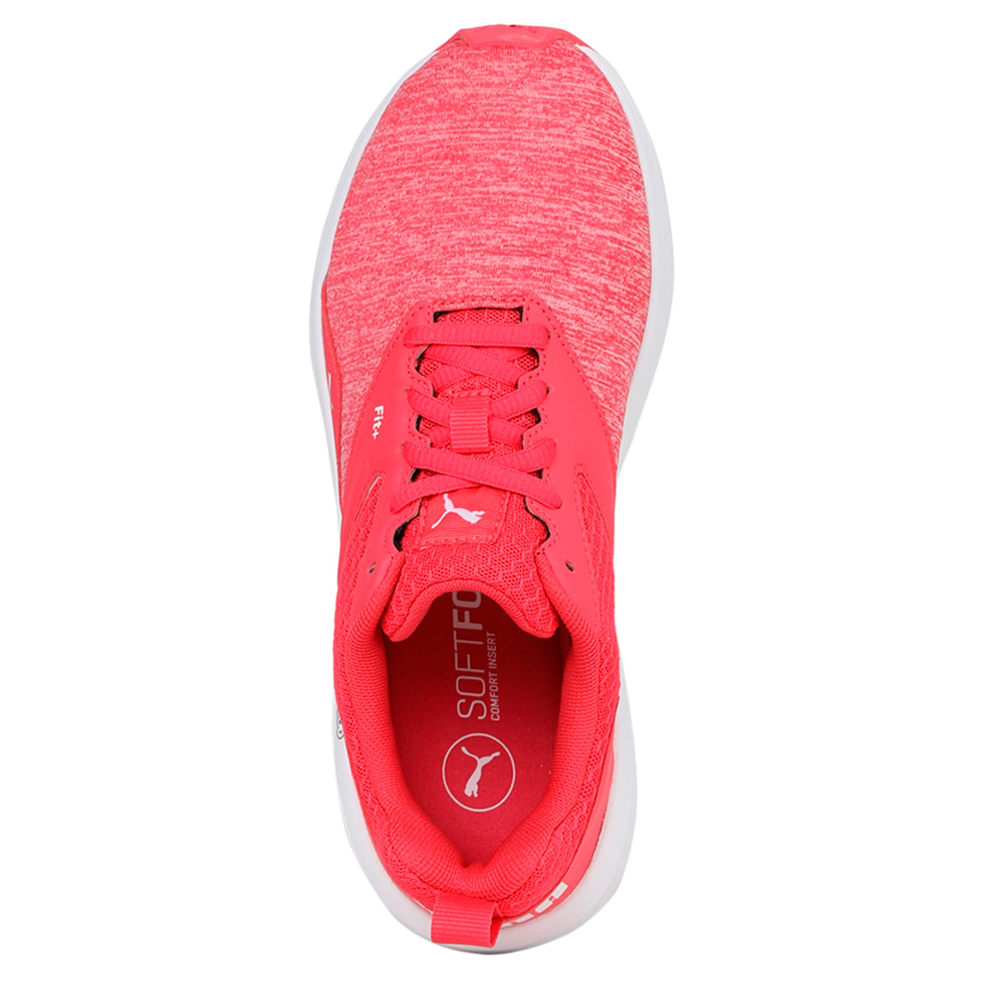 Thumbnail 3 of NRGY Comet Kids' Training Shoes, White-Paradise Pink-White, medium-IND