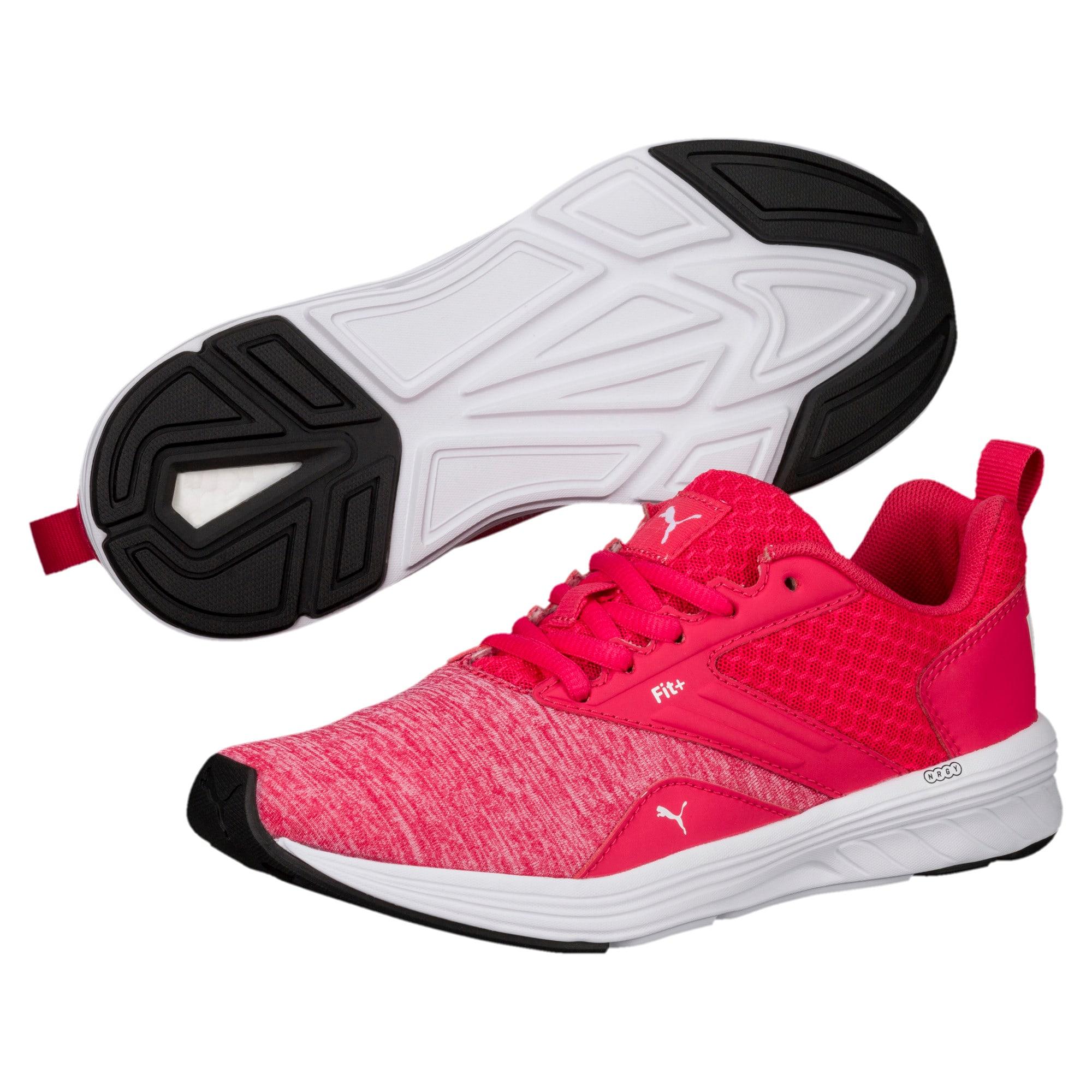 Thumbnail 2 of NRGY Comet Kids' Training Shoes, White-Paradise Pink-White, medium-IND