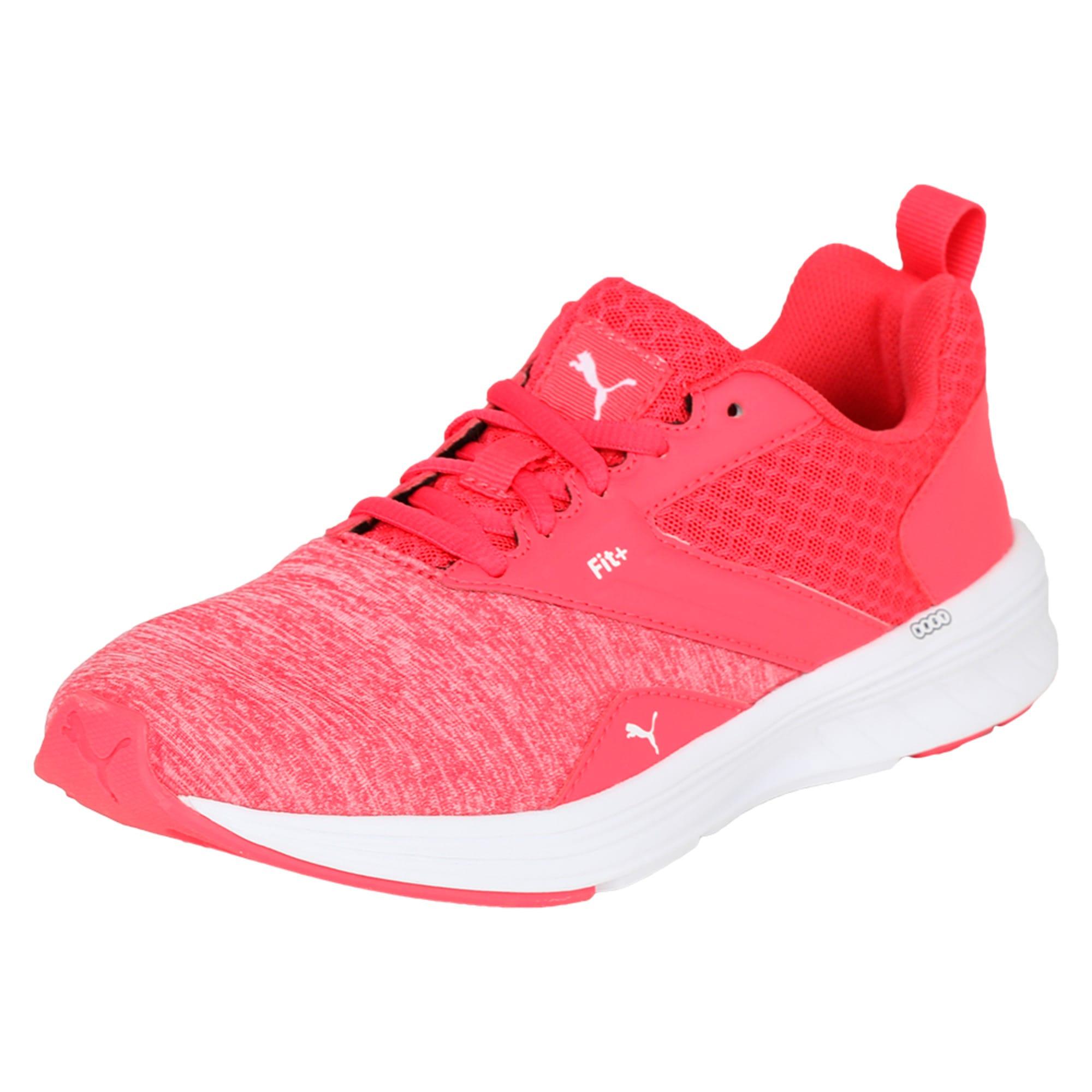 Thumbnail 1 of NRGY Comet Kids' Training Shoes, White-Paradise Pink-White, medium-IND