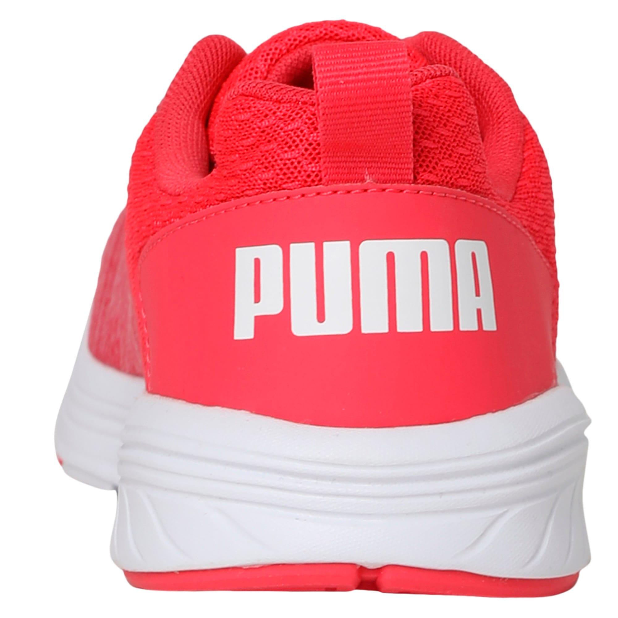 Thumbnail 4 of NRGY Comet Kids' Training Shoes, White-Paradise Pink-White, medium-IND