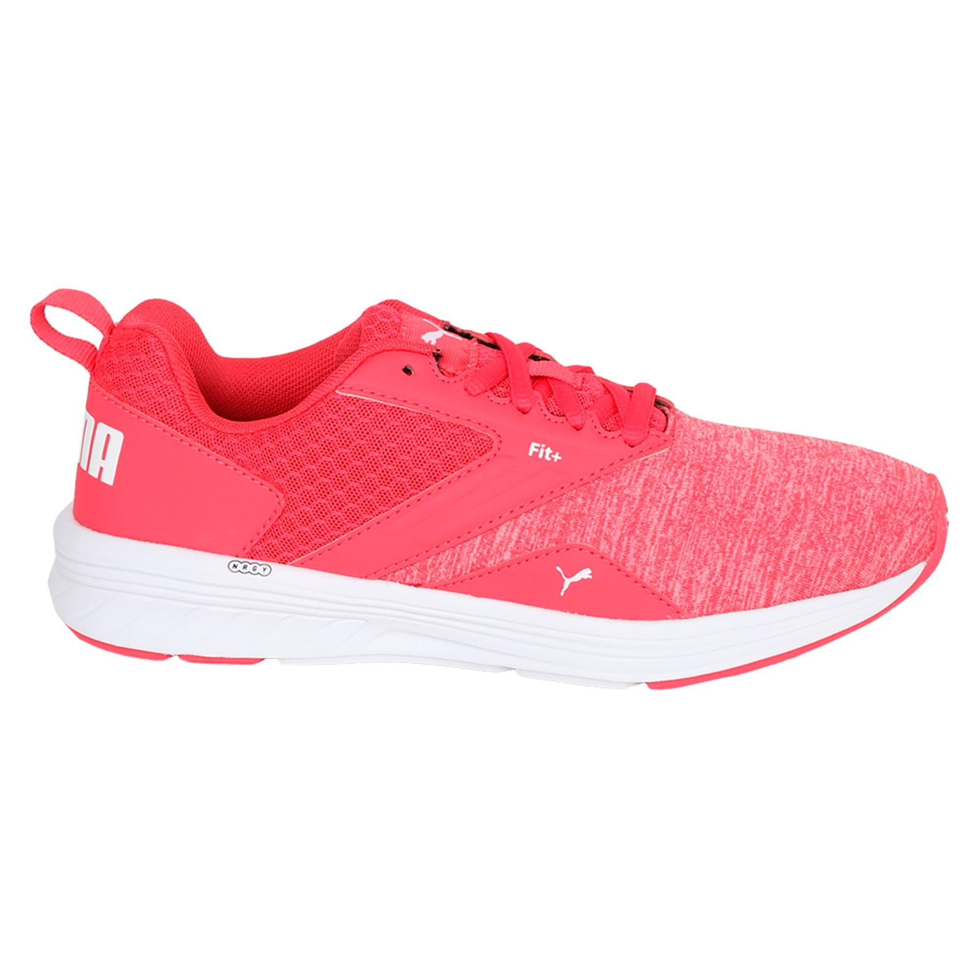 Thumbnail 5 of NRGY Comet Kids' Training Shoes, White-Paradise Pink-White, medium-IND