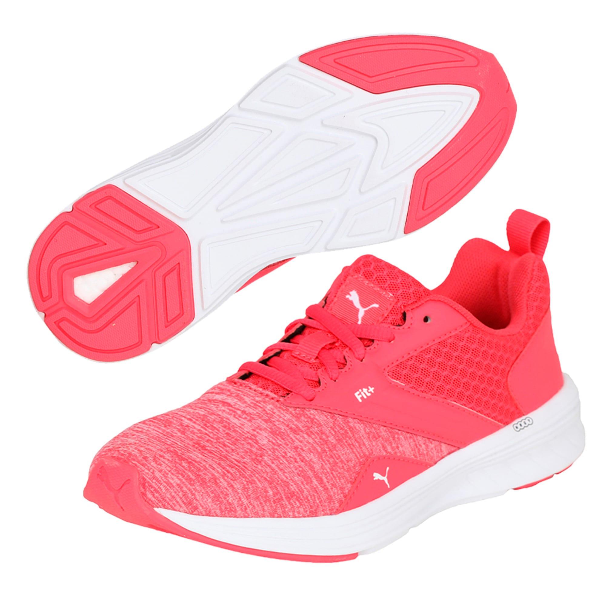 Thumbnail 6 of NRGY Comet Kids' Training Shoes, White-Paradise Pink-White, medium-IND