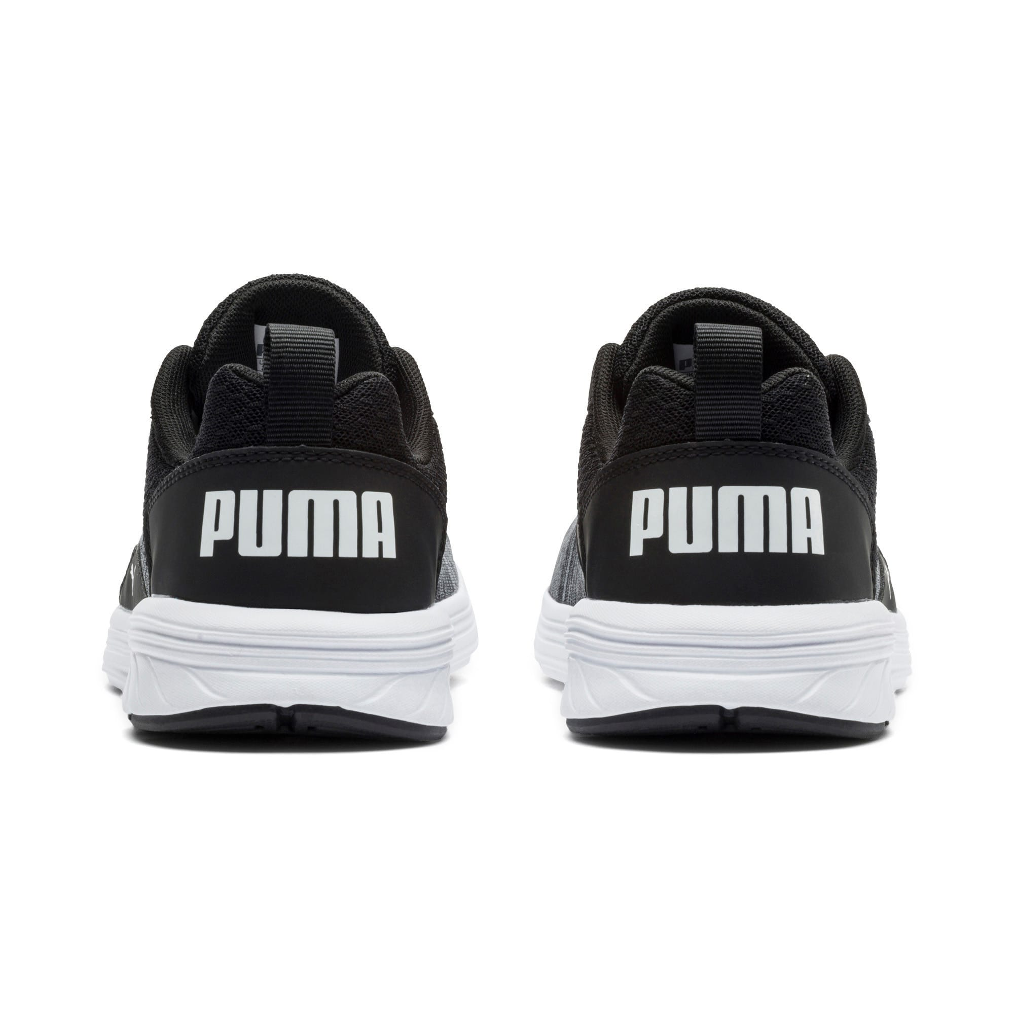 Thumbnail 4 of NRGY Comet Kids' Training Shoes, Puma White-Puma Black, medium-IND