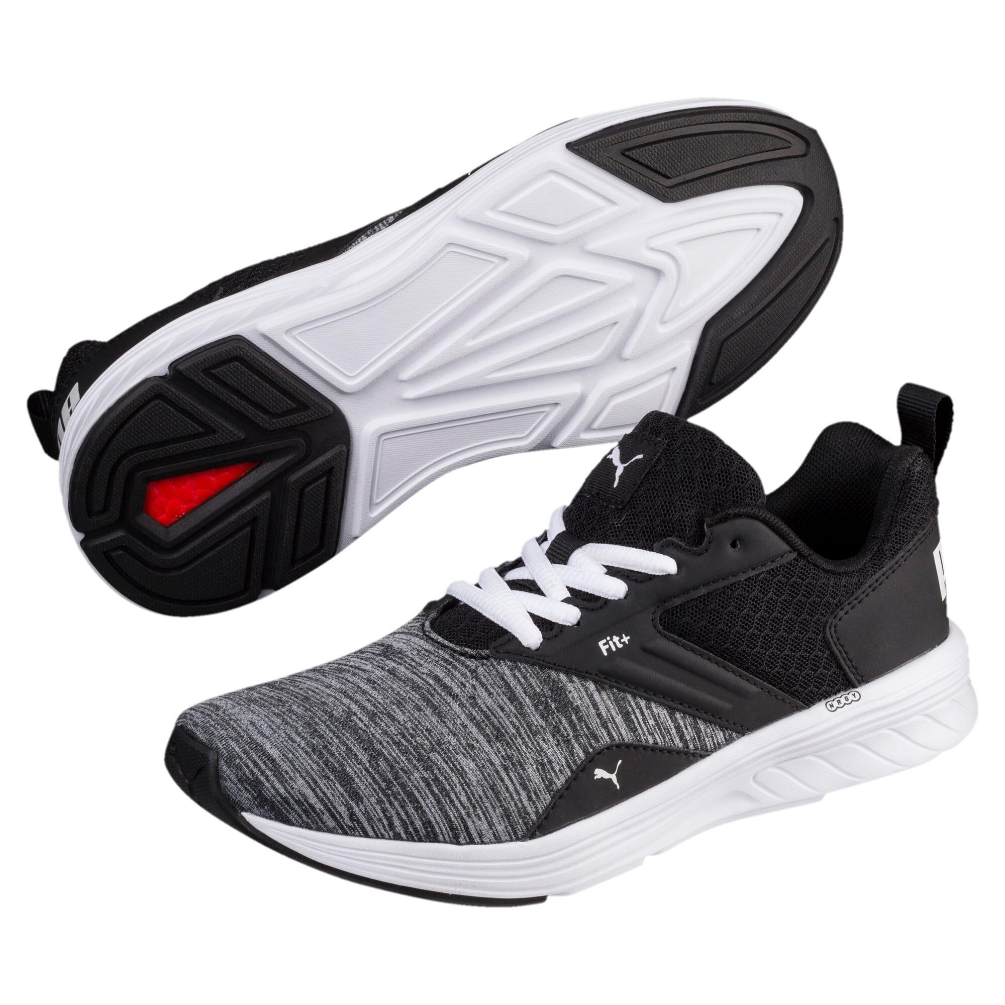 Thumbnail 6 of NRGY Comet Kids' Training Shoes, Puma White-Puma Black, medium-IND