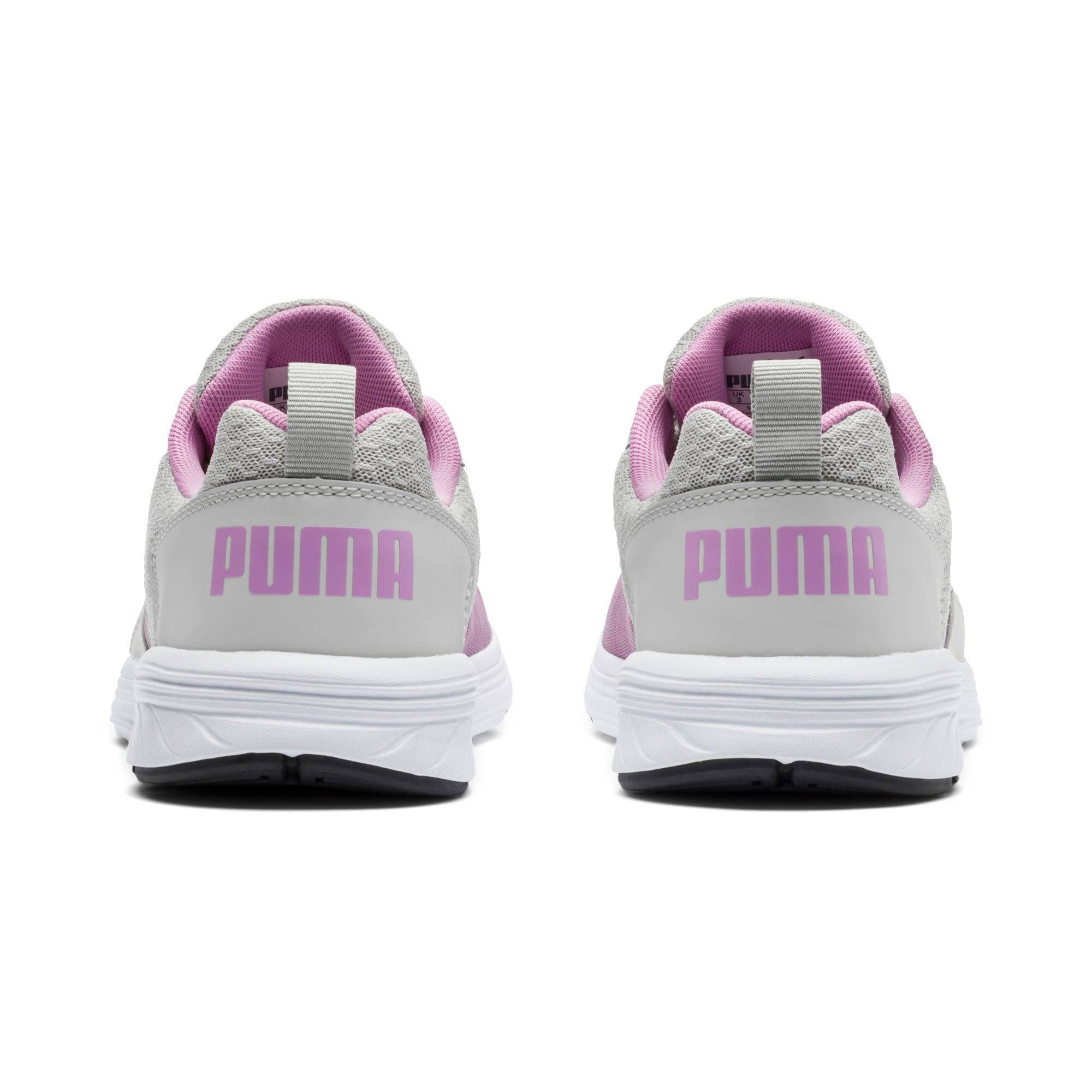 Thumbnail 3 of NRGY Comet Kids' Training Shoes, Gray Violet-Orchid, medium-IND