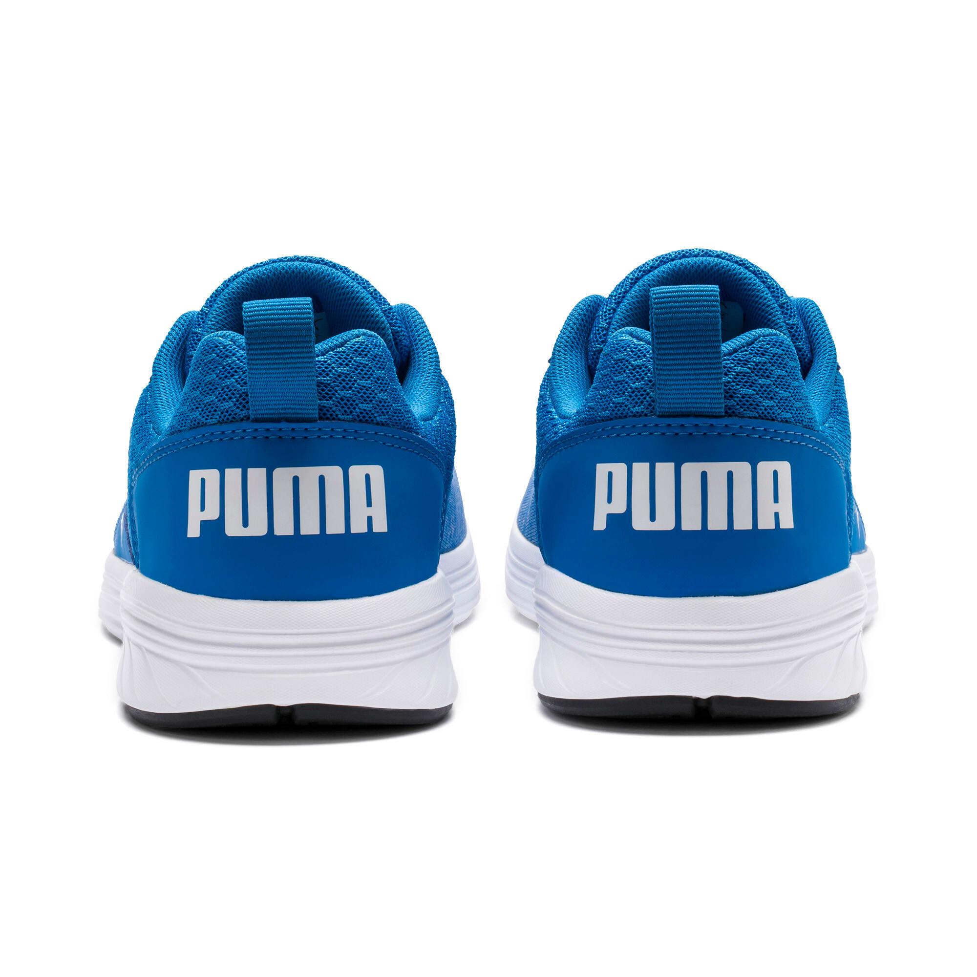Thumbnail 4 of NRGY Comet Kids' Training Shoes, Indigo Bunting-Puma White, medium-IND