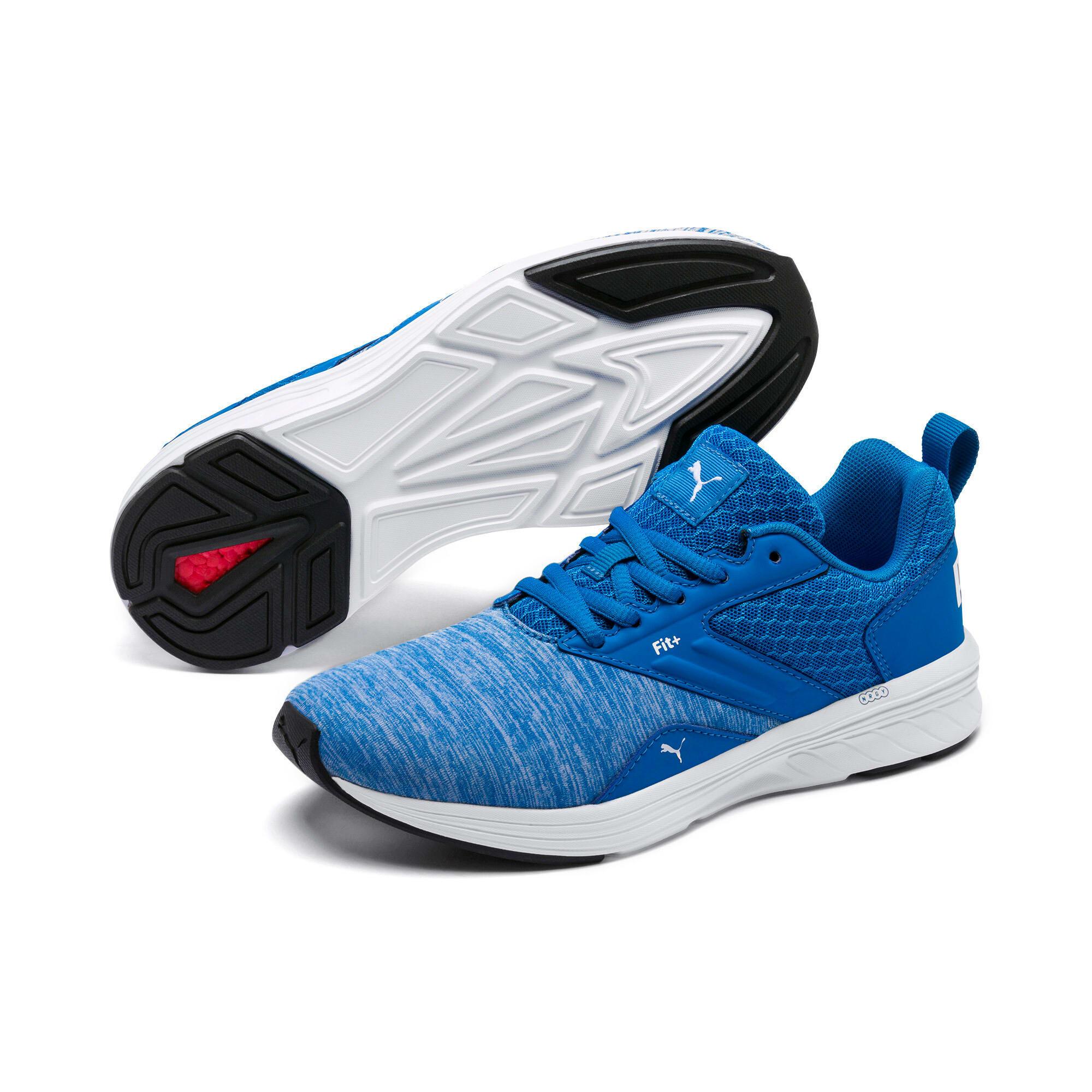 Thumbnail 3 of NRGY Comet Kids' Training Shoes, Indigo Bunting-Puma White, medium-IND