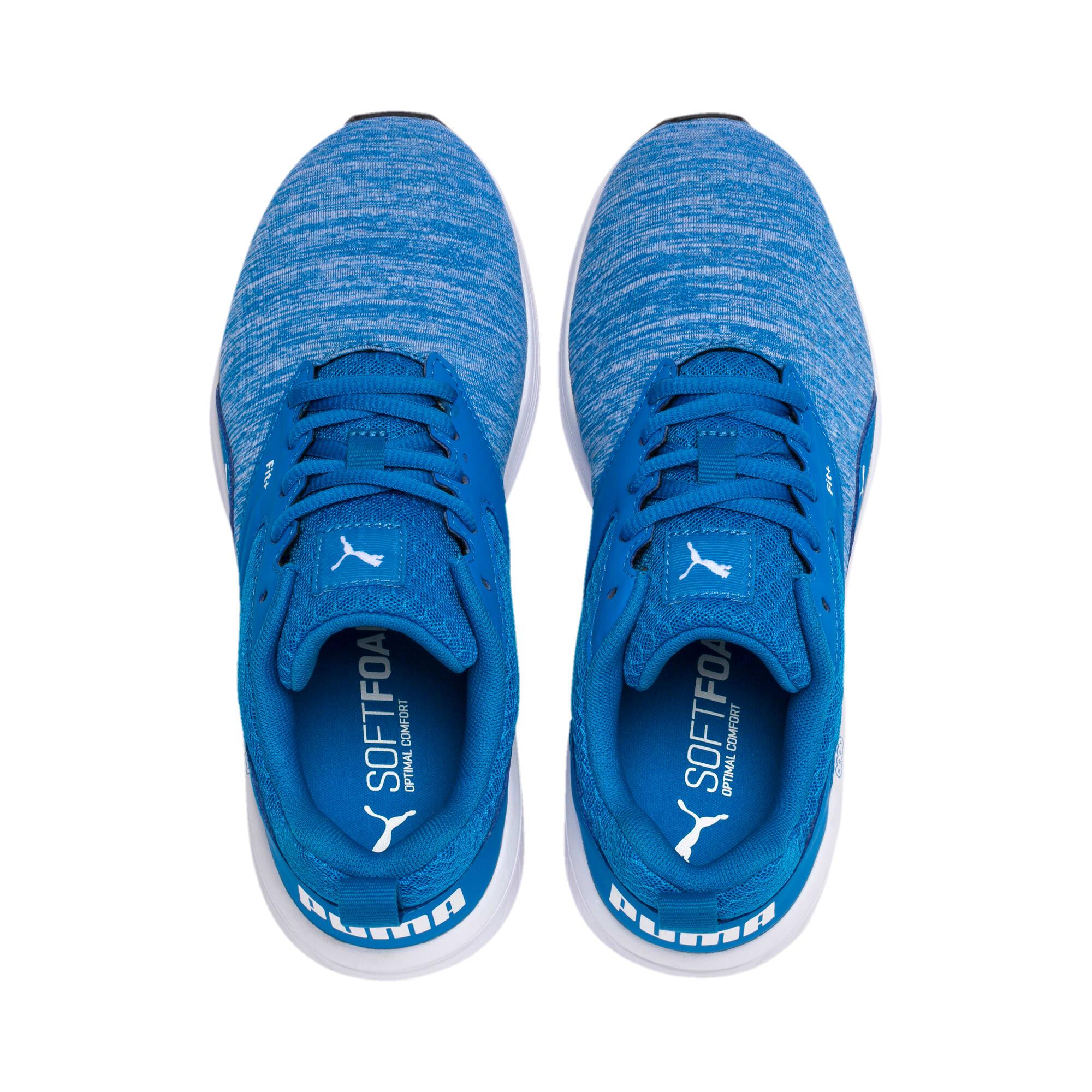 Thumbnail 6 of NRGY Comet Kids' Training Shoes, Indigo Bunting-Puma White, medium-IND