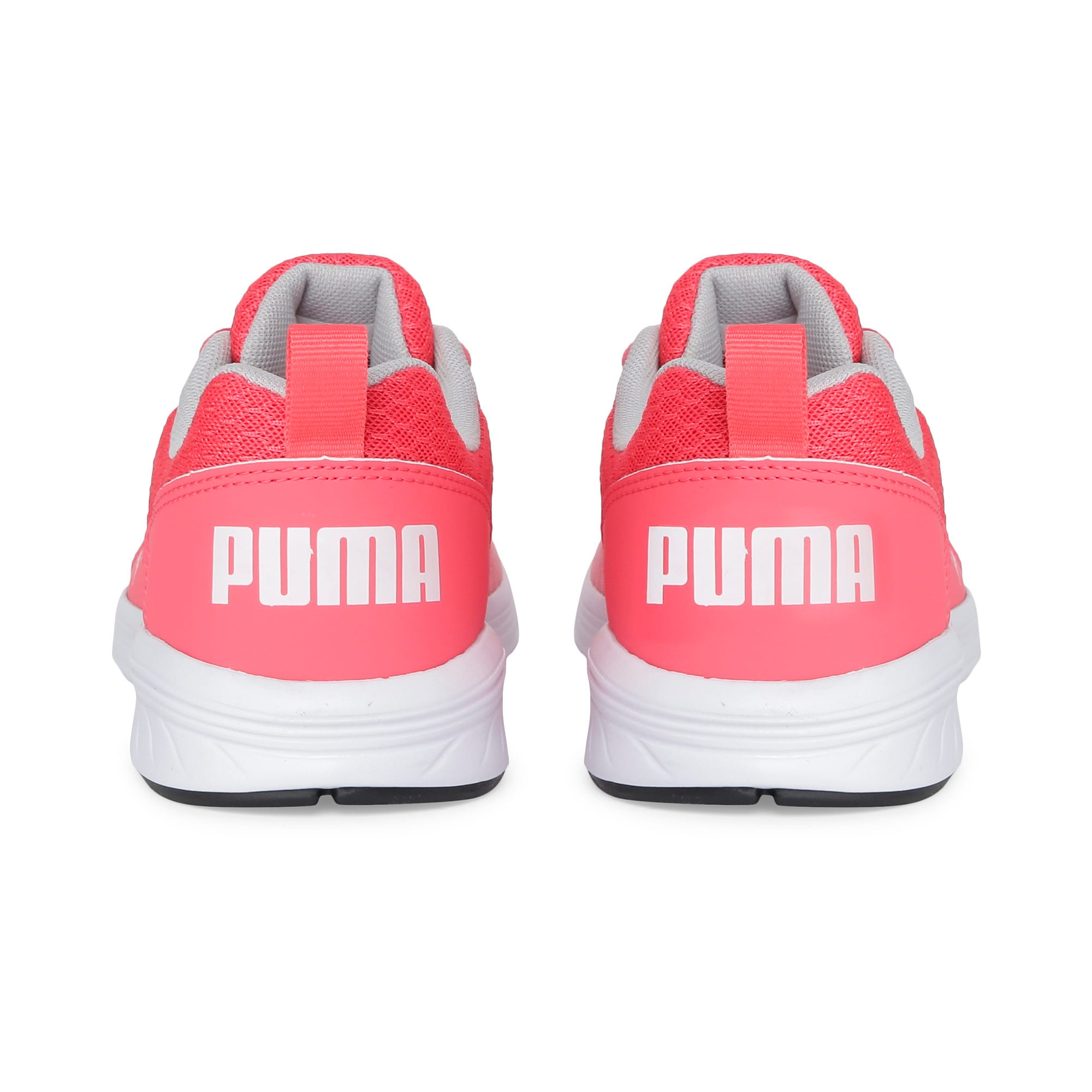 Thumbnail 3 of NRGY Comet Kids' Training Shoes, Calypso Coral-Puma White, medium-IND