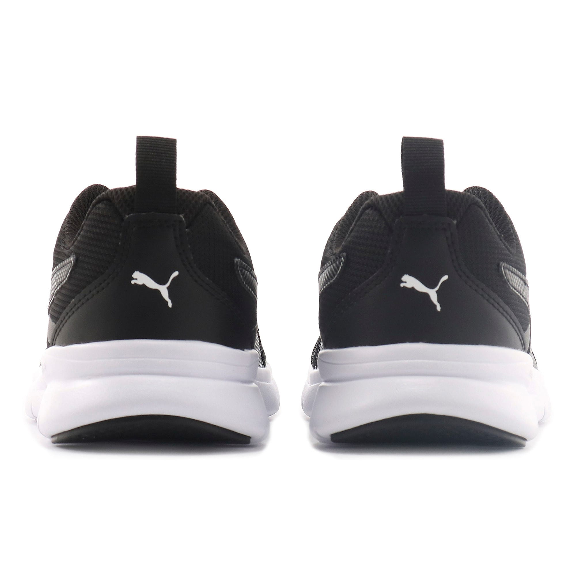 Thumbnail 3 of Essential Flex Youth Trainers, Puma Black-Puma Black, medium-IND