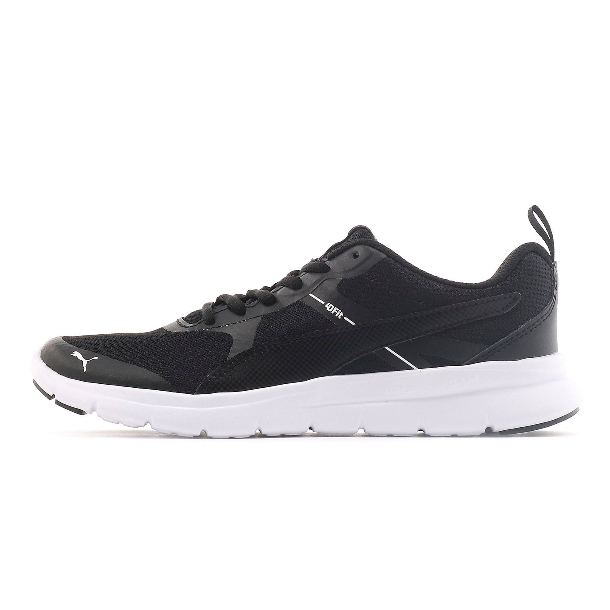 Thumbnail 1 of Essential Flex Youth Trainers, Puma Black-Puma Black, medium-IND