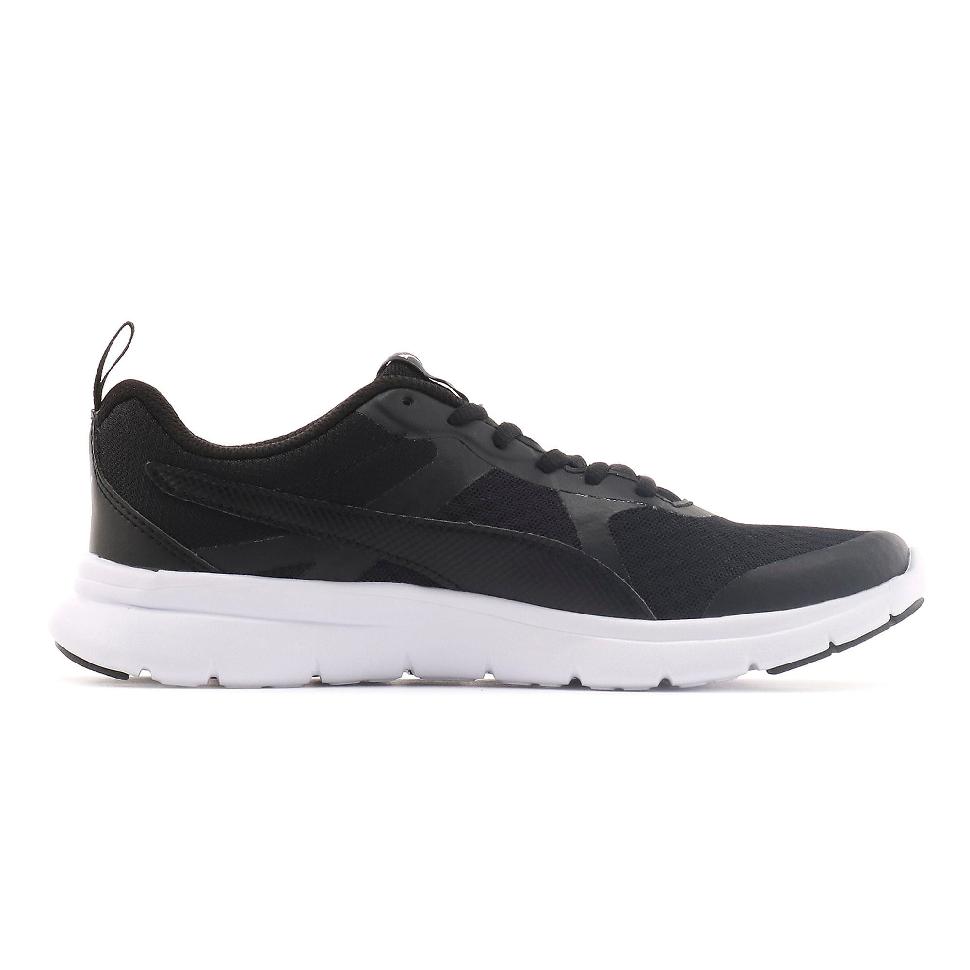 Thumbnail 5 of Essential Flex Youth Trainers, Puma Black-Puma Black, medium-IND