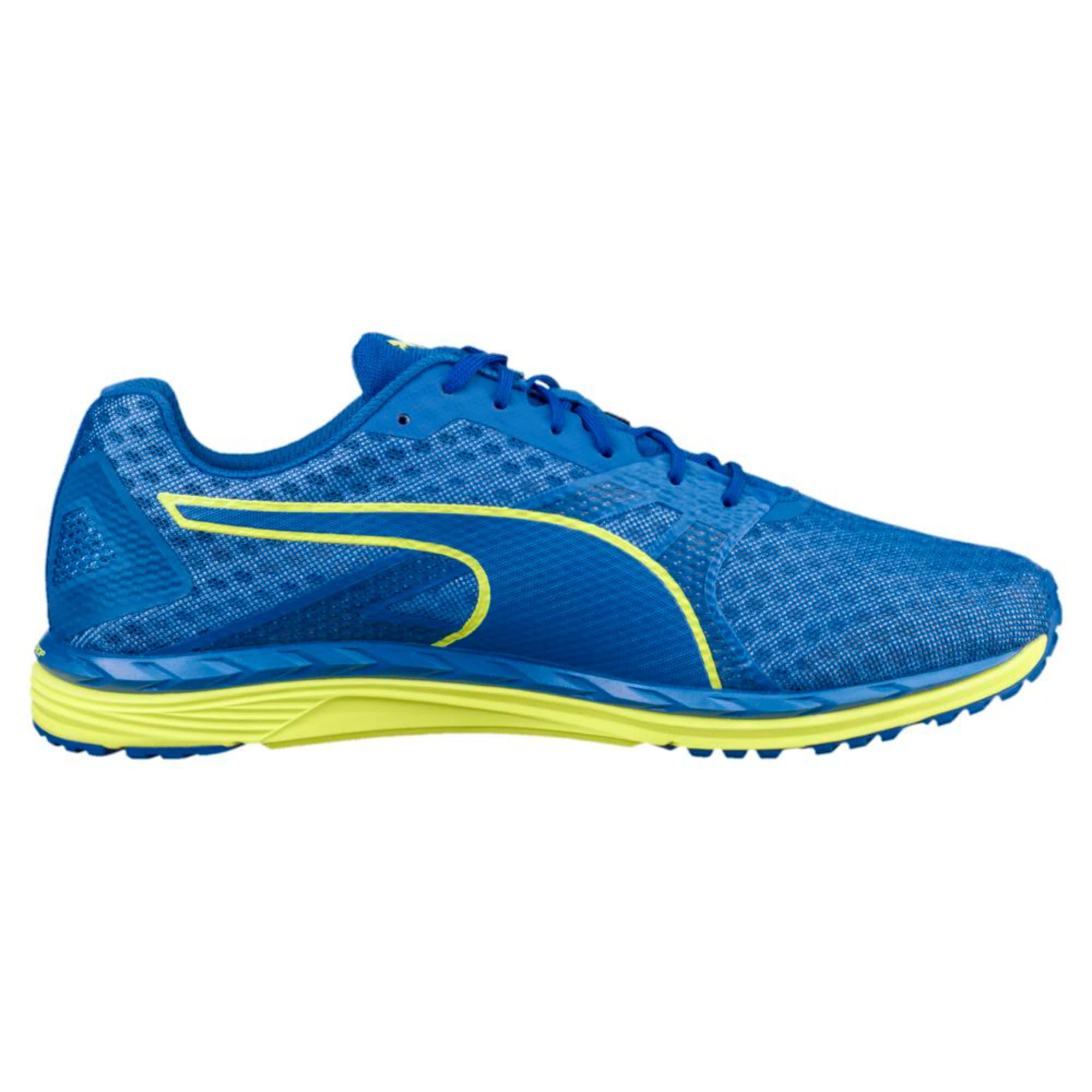 Thumbnail 2 of Speed 300 IGNITE 3 Men's Running Shoes, Turkish Sea-Peacoat-Yellow, medium-IND