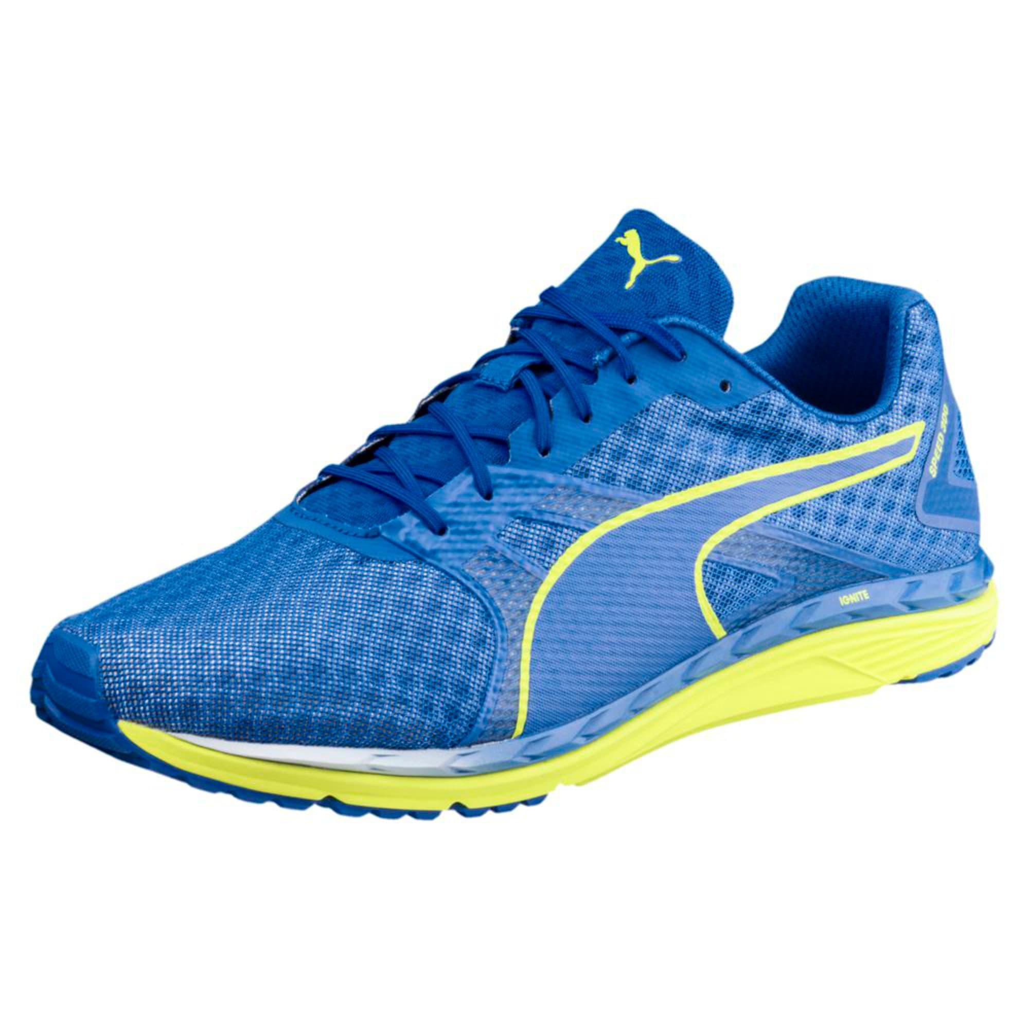 Thumbnail 1 of Speed 300 IGNITE 3 Men's Running Shoes, Turkish Sea-Peacoat-Yellow, medium-IND