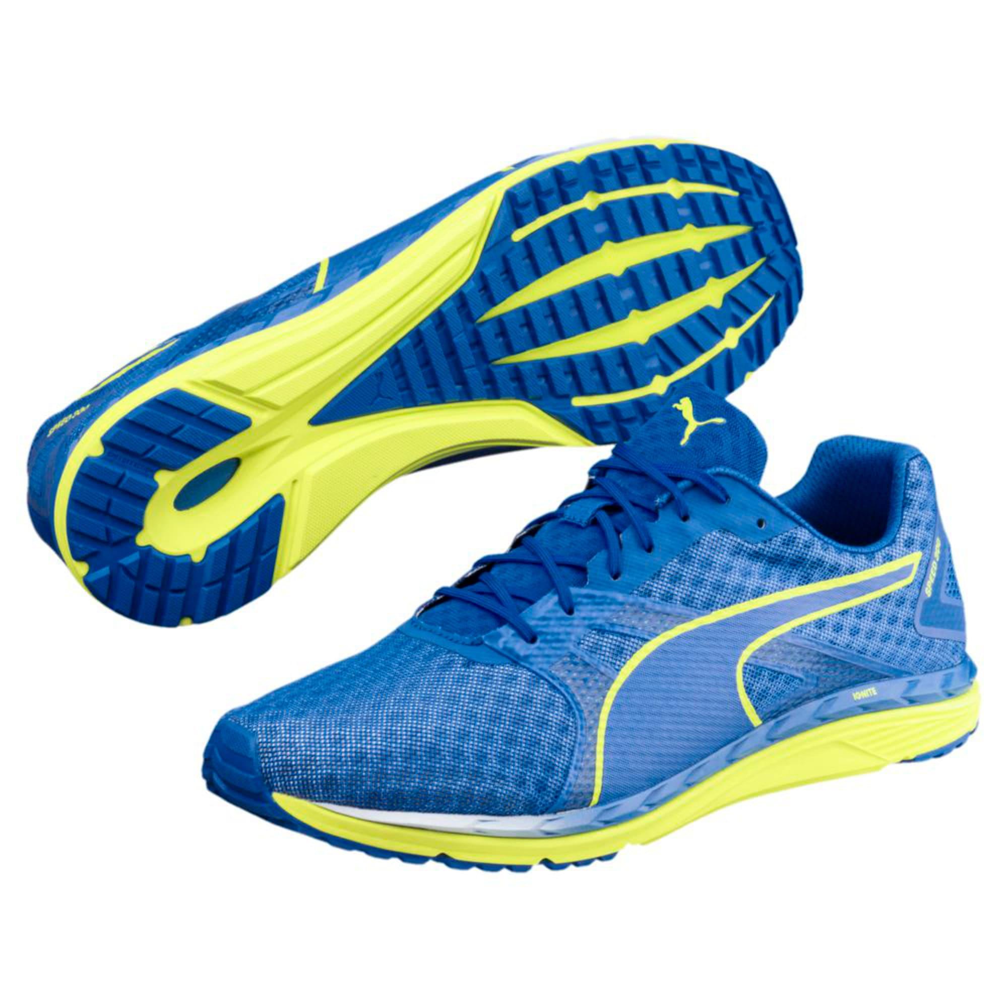 Thumbnail 6 of Speed 300 IGNITE 3 Men's Running Shoes, Turkish Sea-Peacoat-Yellow, medium-IND