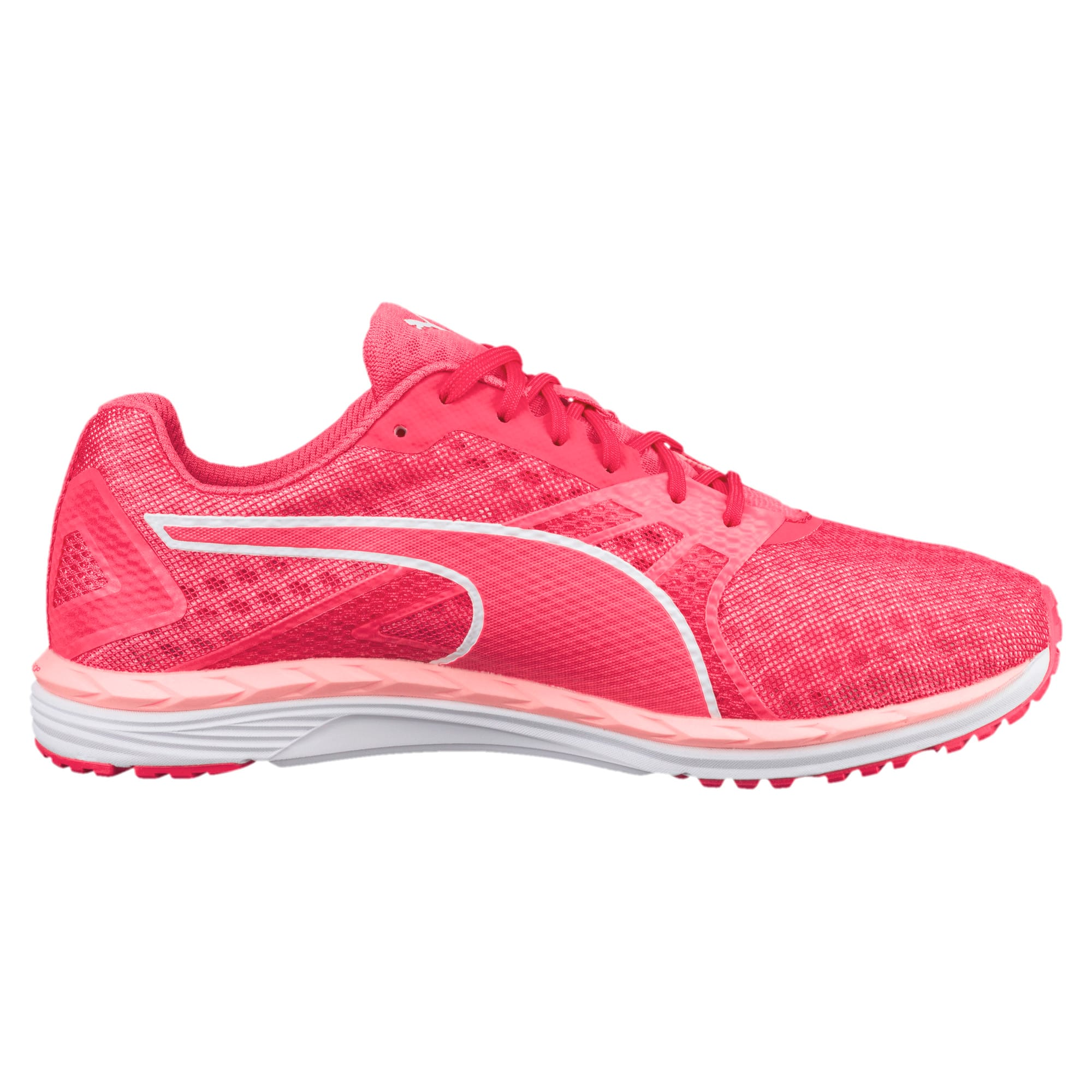 Thumbnail 4 of Speed 300 IGNITE 3 Women's Running Shoes, Pink-Fluo Peach-White, medium-IND