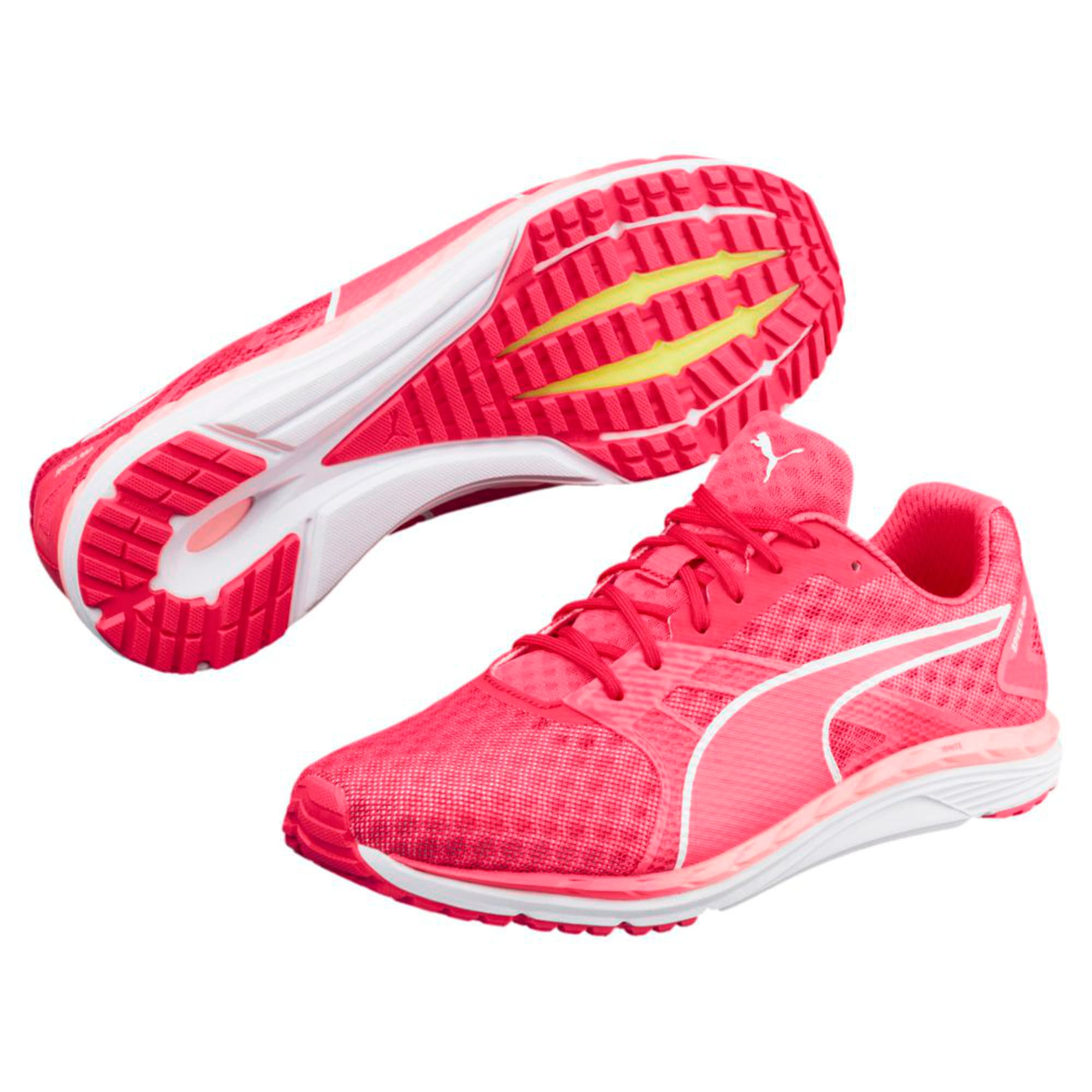 Thumbnail 6 of Speed 300 IGNITE 3 Women's Running Shoes, Pink-Fluo Peach-White, medium-IND