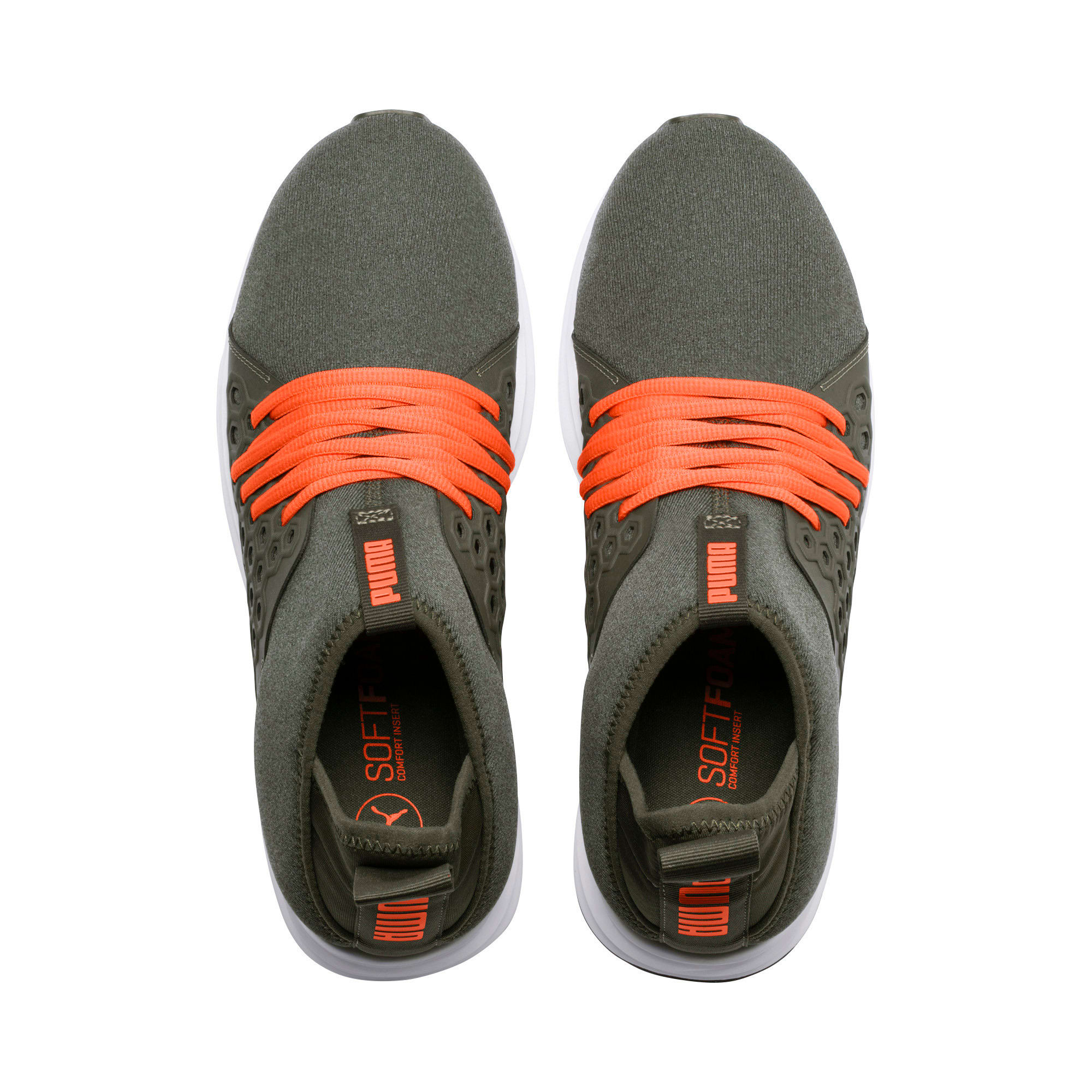 Thumbnail 6 of Enzo NETFIT Mid Men's Training Shoes, Forest Night-Firecracker, medium-IND